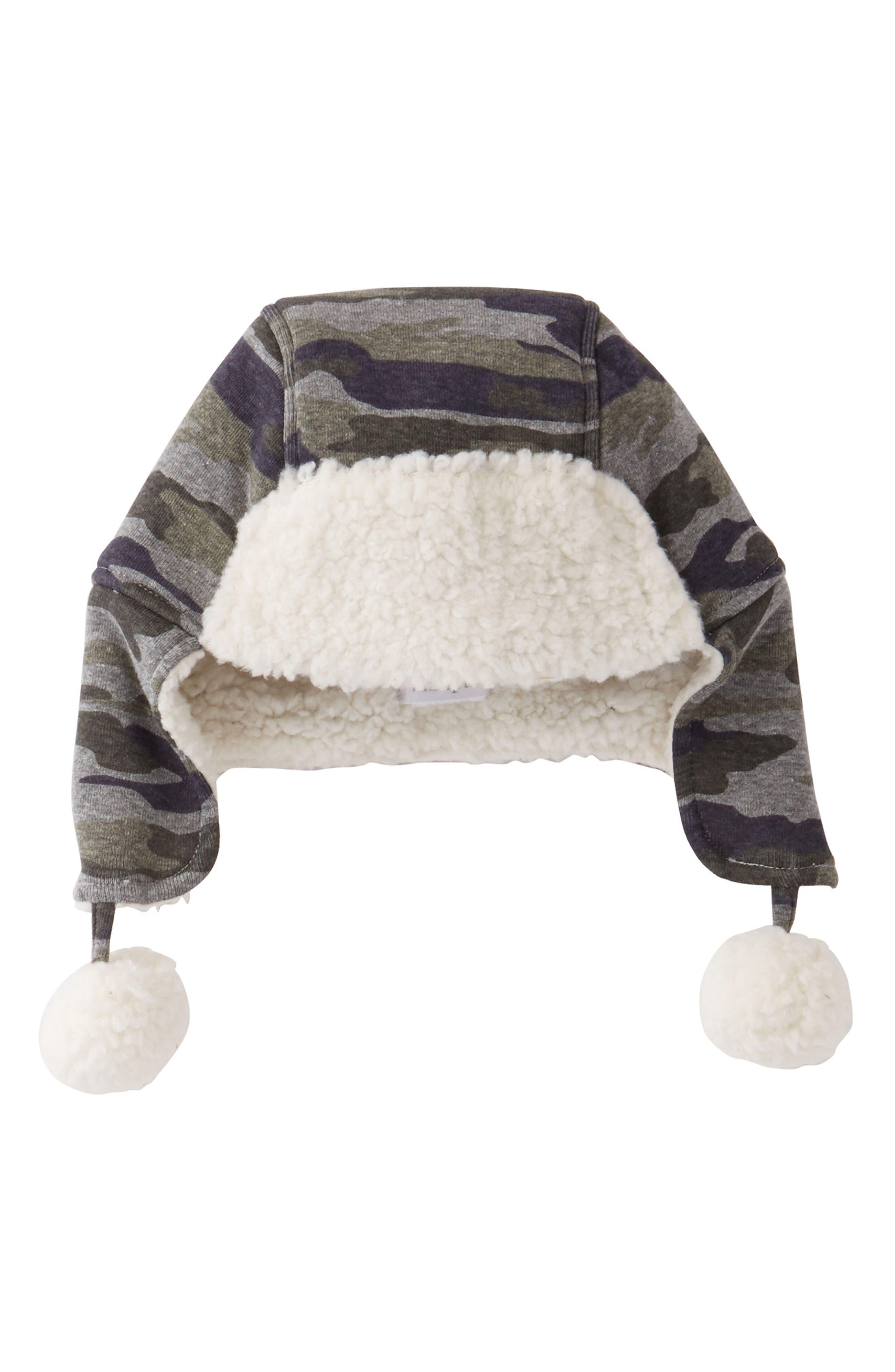 Mud Pie Camo Fleece Hat (Baby)