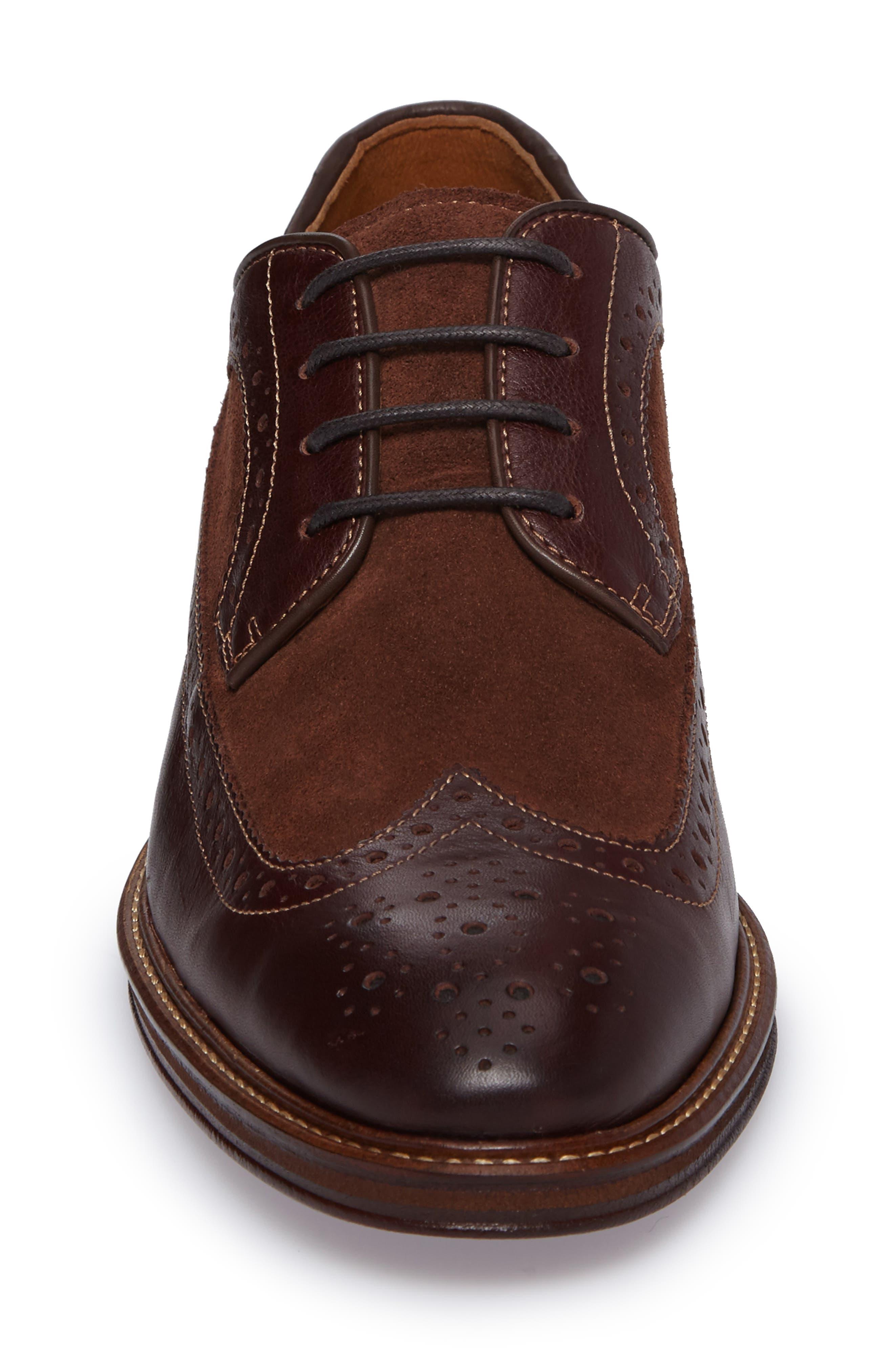 Alternate Image 4  - Johnston & Murphy Warner Spectator Shoe (Men)