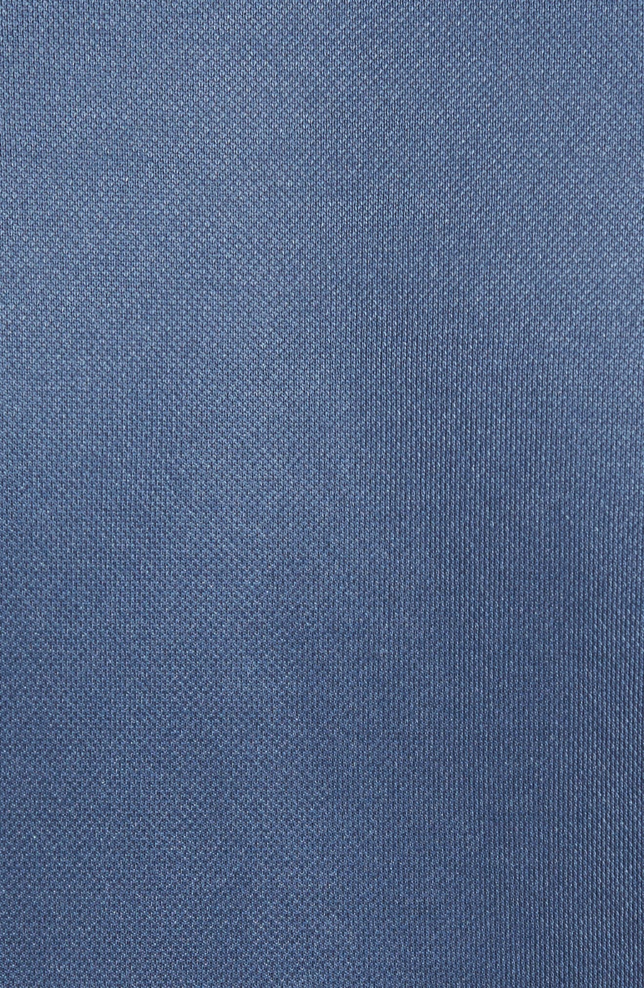 Wycoff Piqué Polo,                             Alternate thumbnail 5, color,                             Vintage Indigo