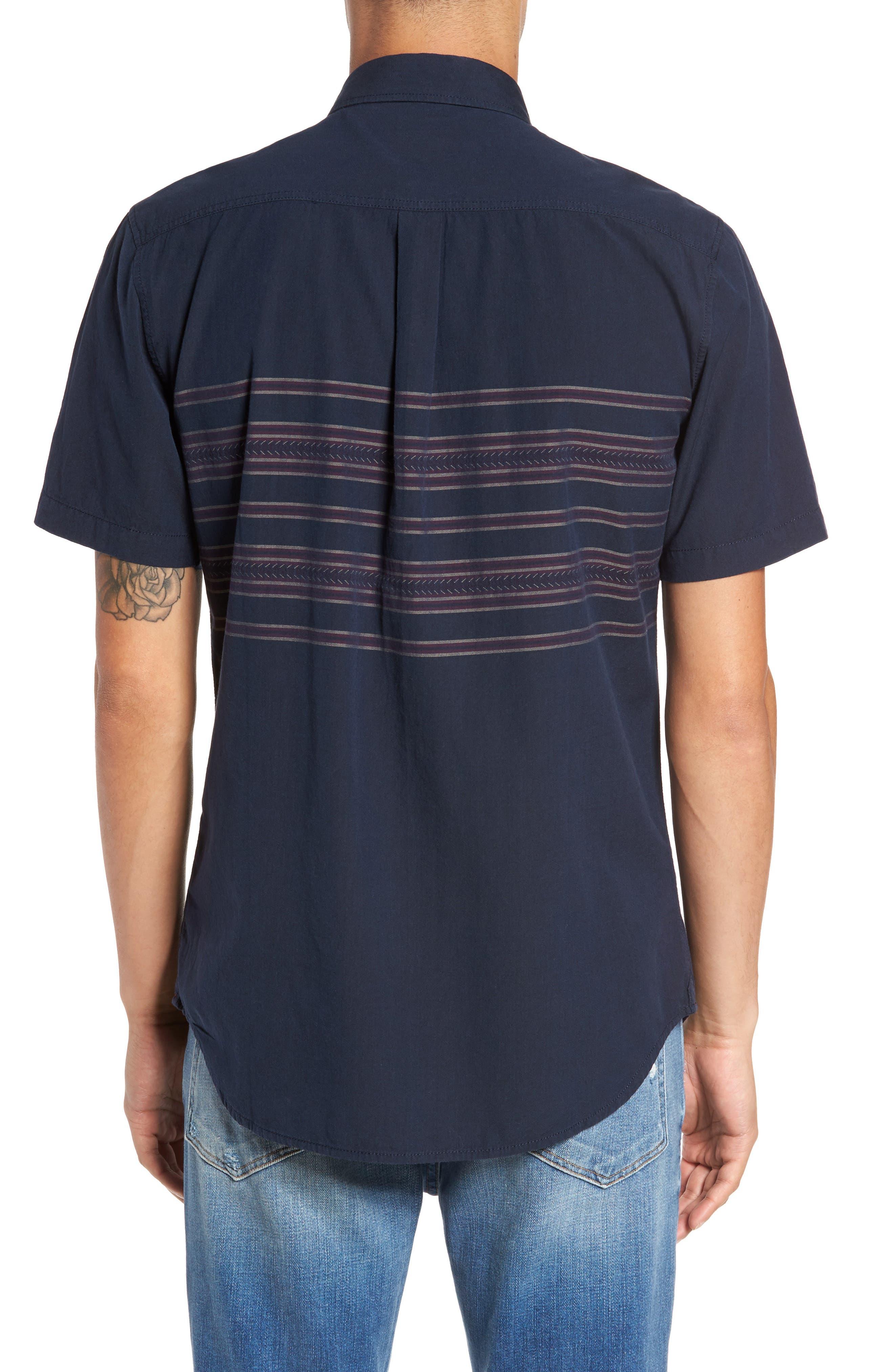 Alternate Image 2  - Vans Benmore Striped Woven Shirt