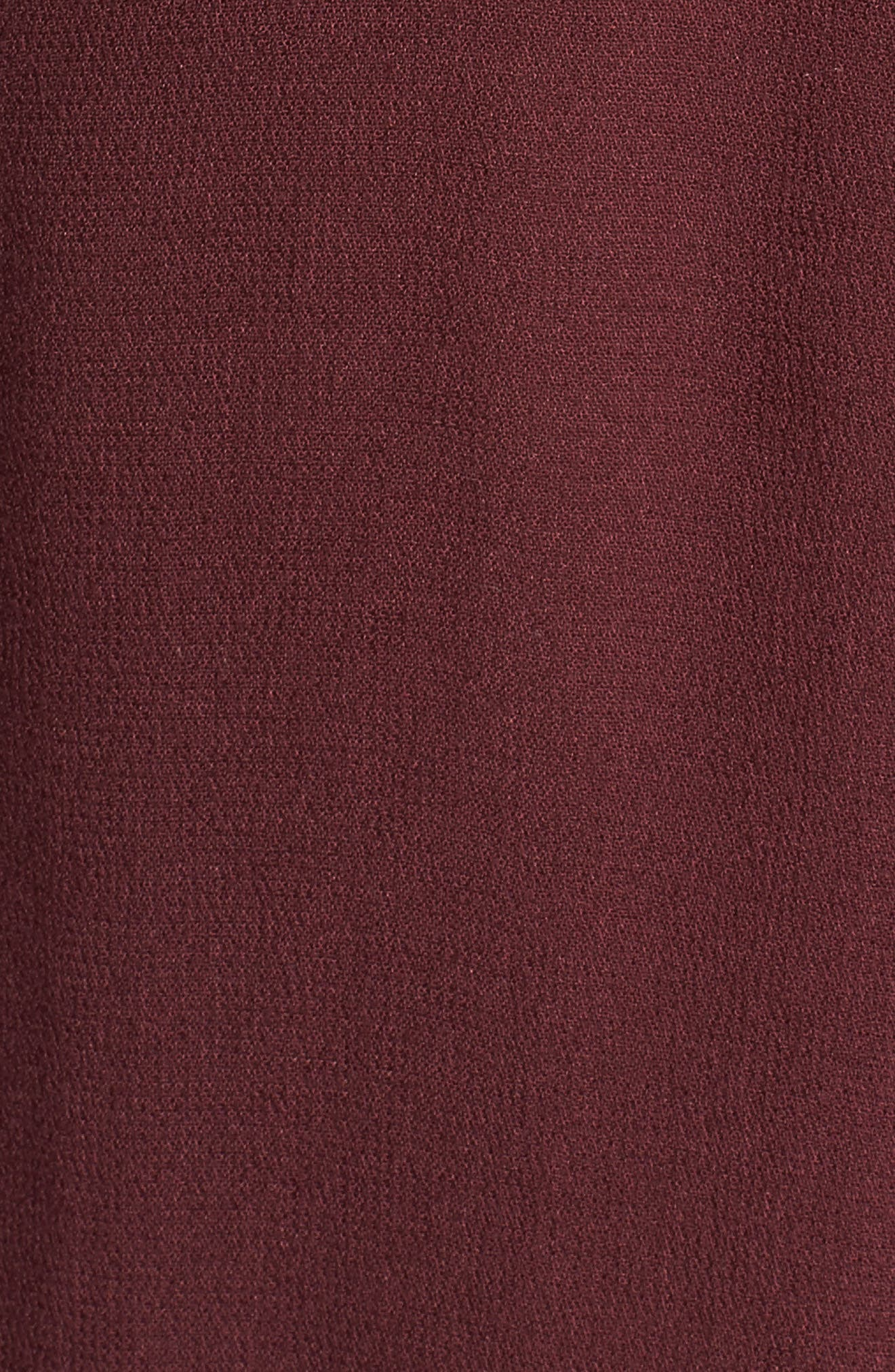 Balloon Sleeve Top,                             Alternate thumbnail 5, color,                             Burgundy Royale