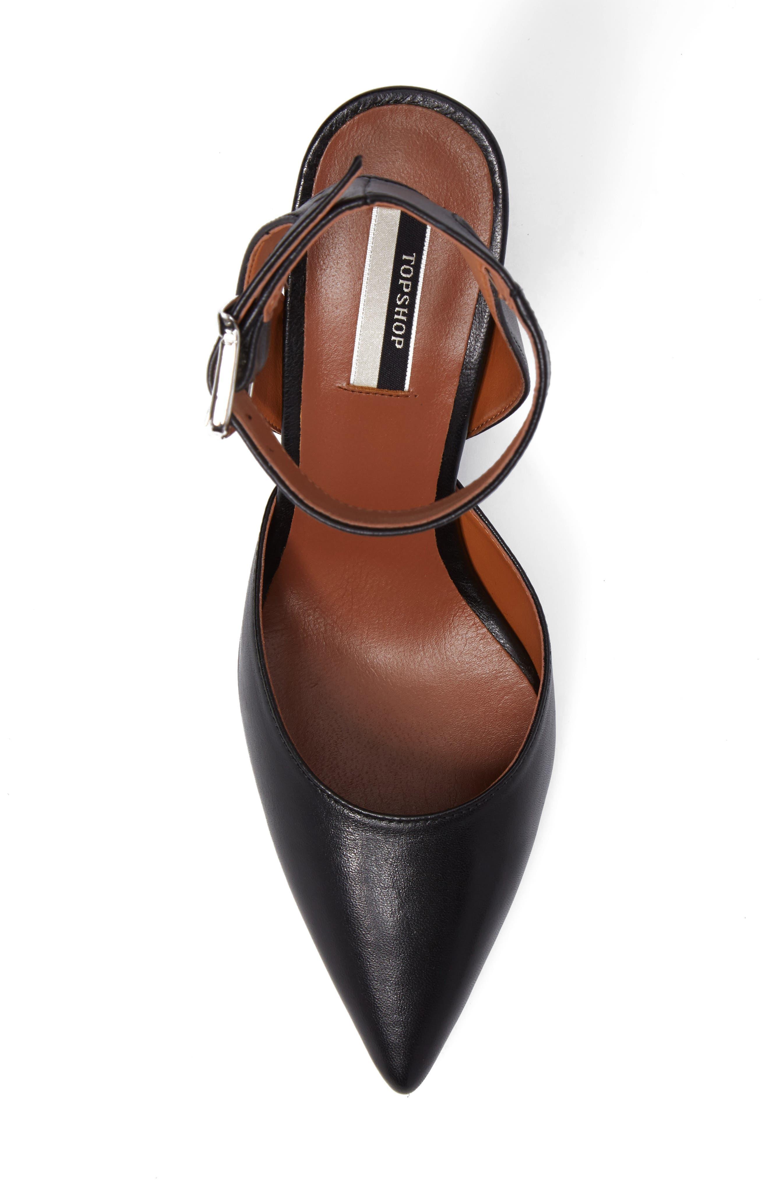 Alternate Image 5  - Topshop Jessa Ankle Strap Pump (Women)