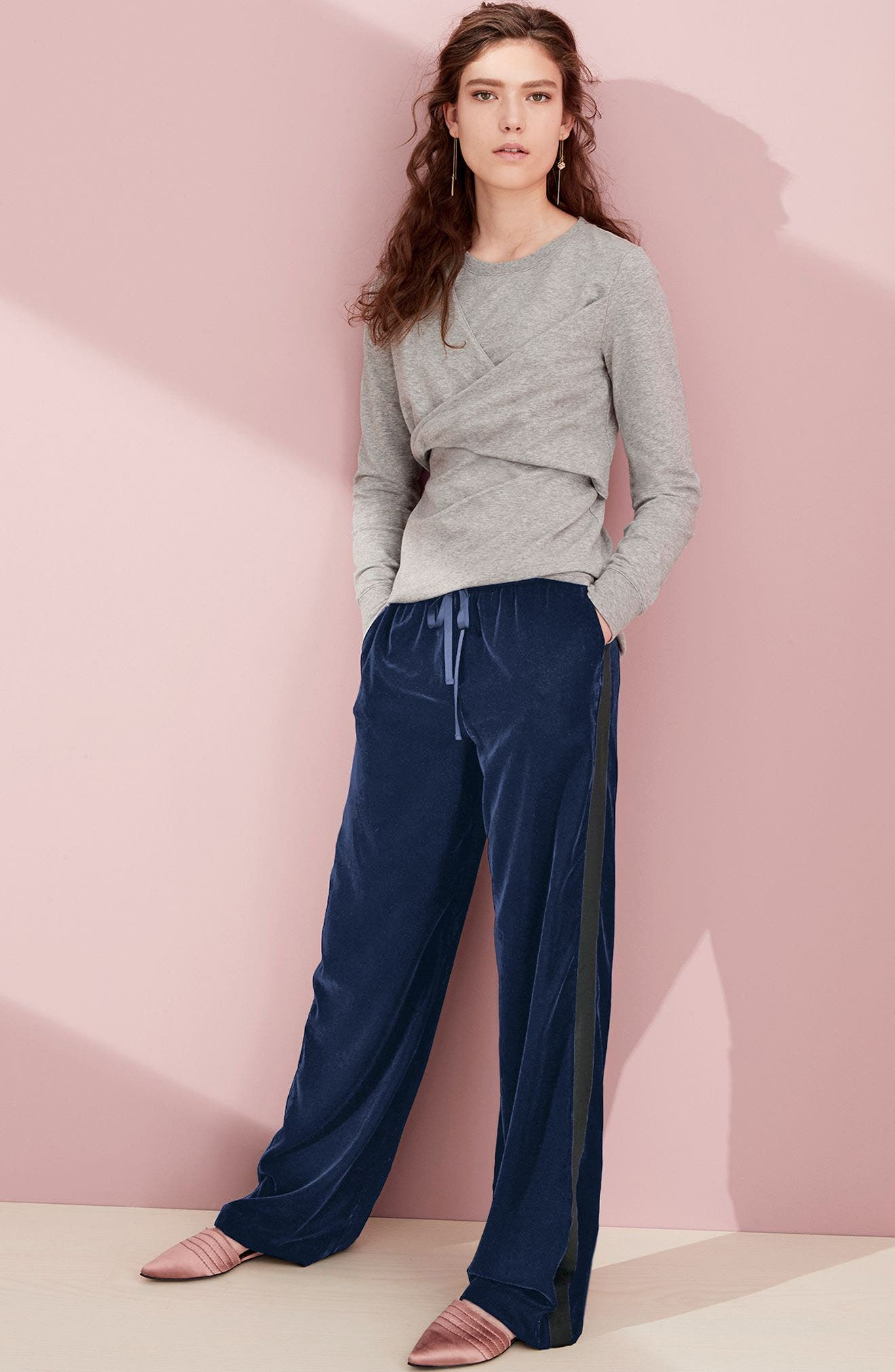 Trouvé Sweatshirt & Pants Outfit with Accessories