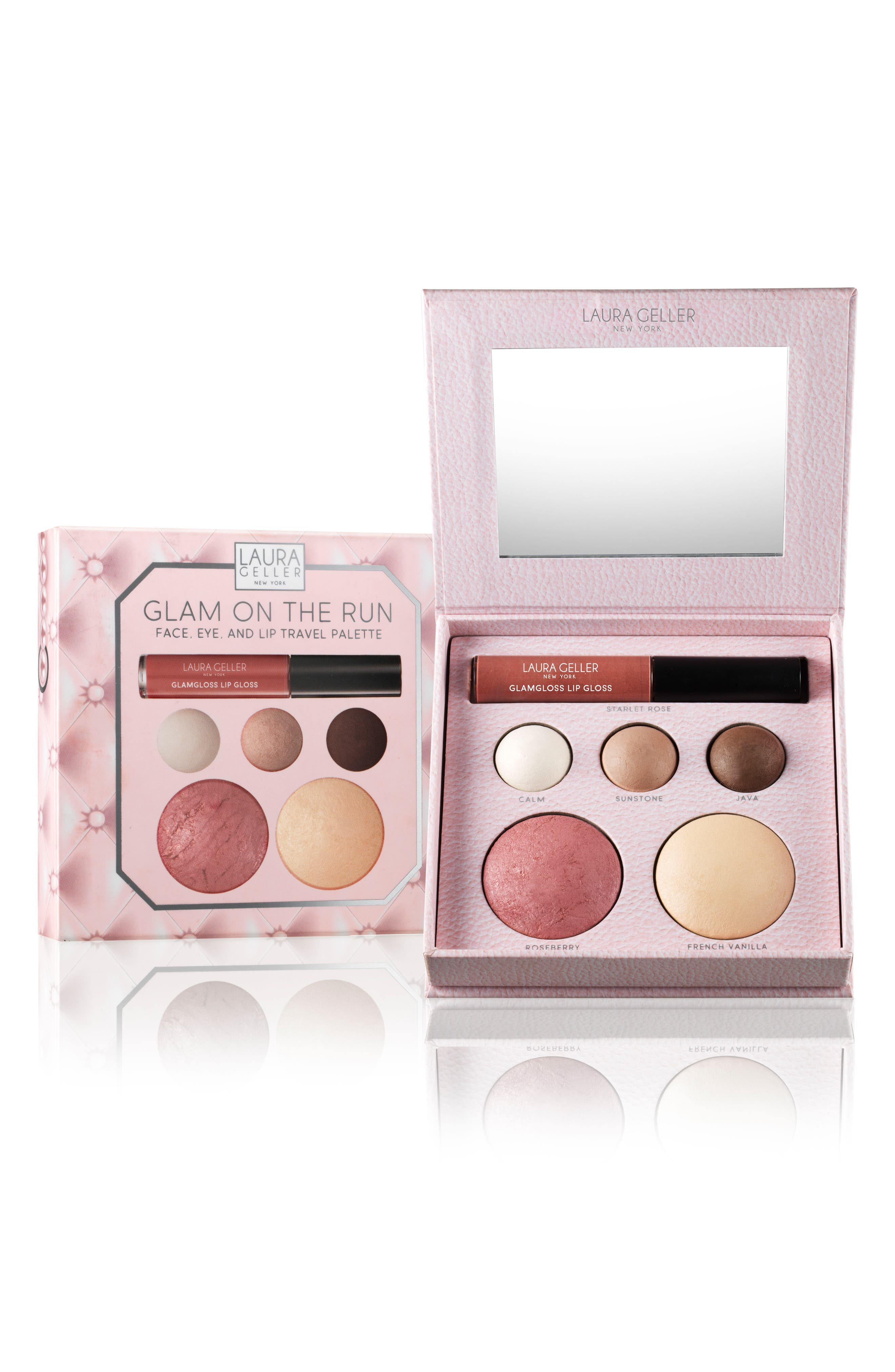 Glam on the Run Travel Palette,                             Main thumbnail 1, color,                             No Color