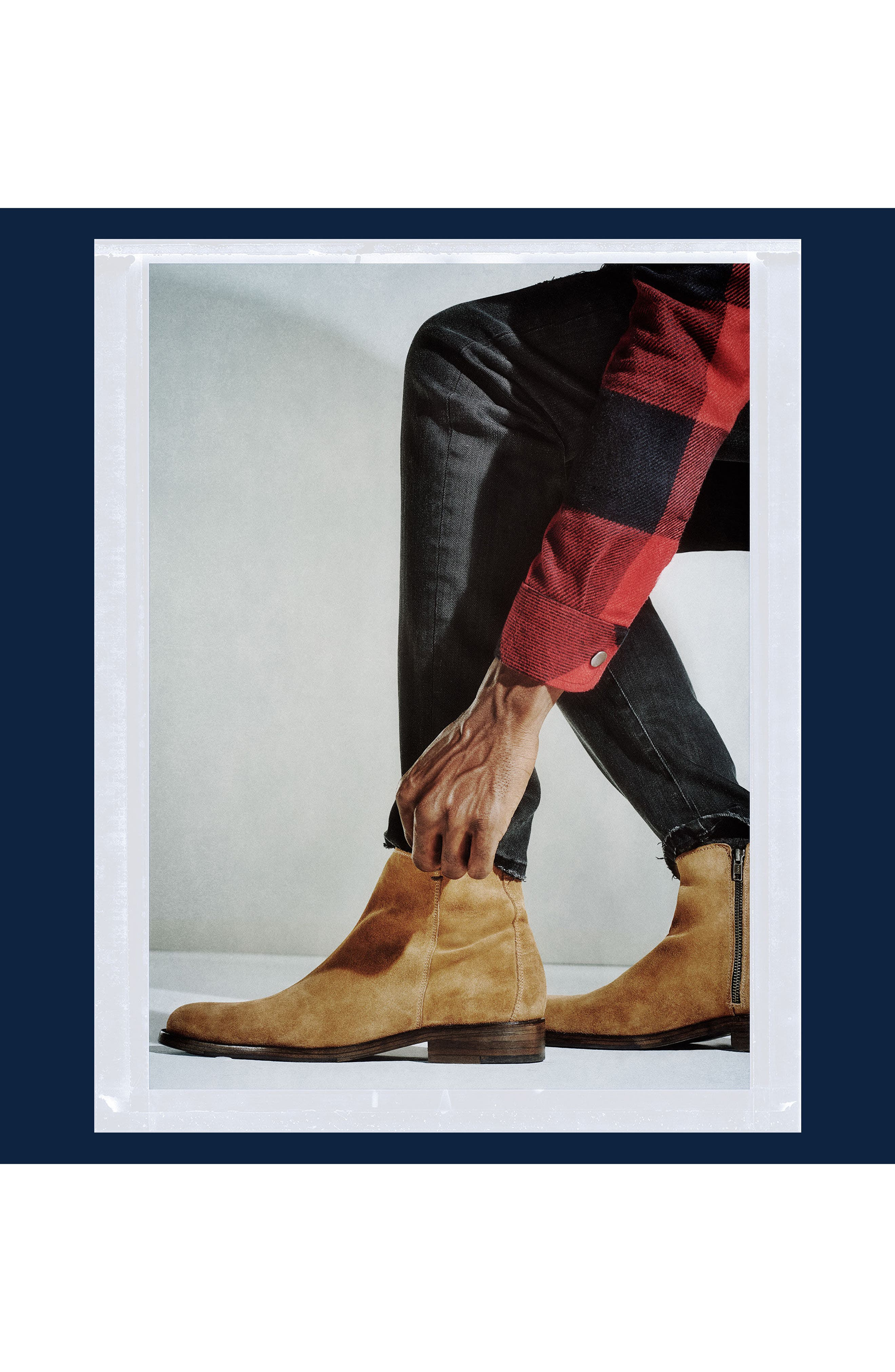Alternate Image 8  - Steve Madden x GQ Fred Zip Boot (Men)