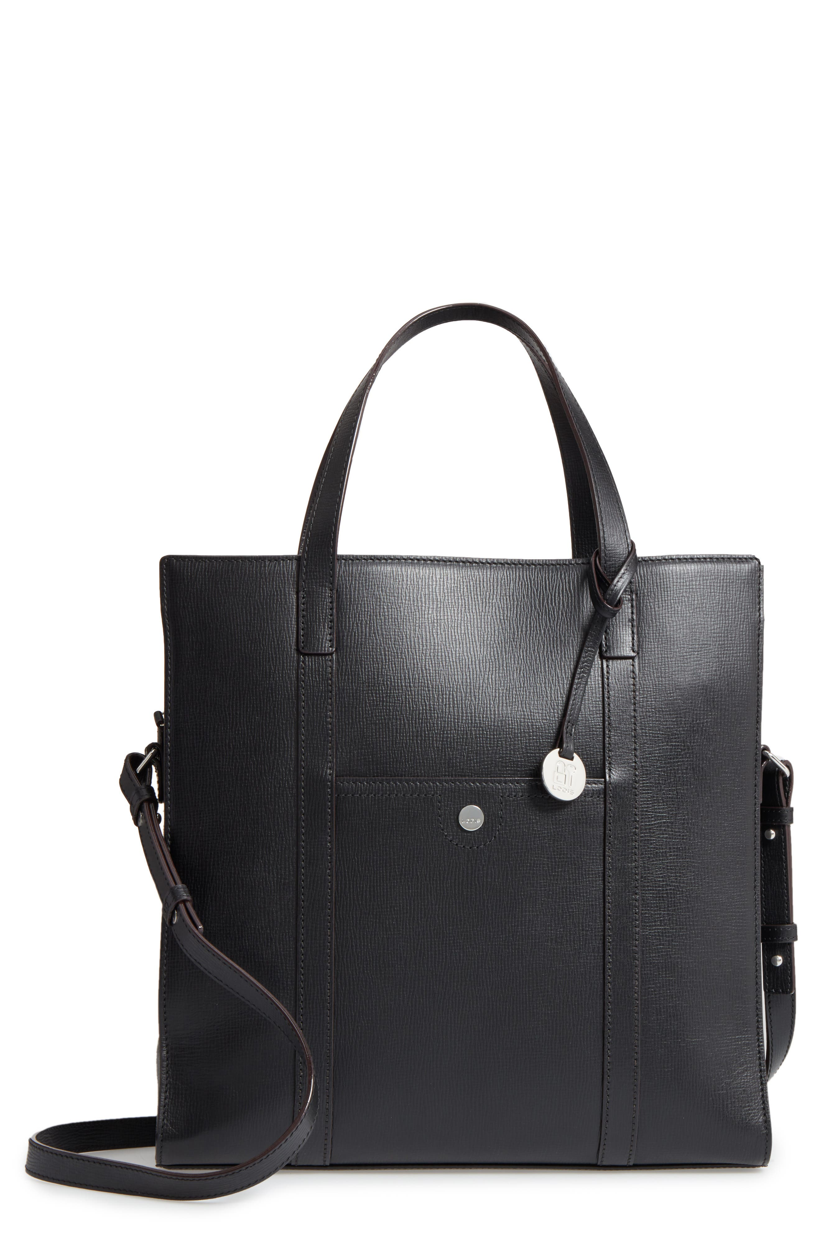 LODIS Business Chic Nikita RFID-Protected Leather Tote