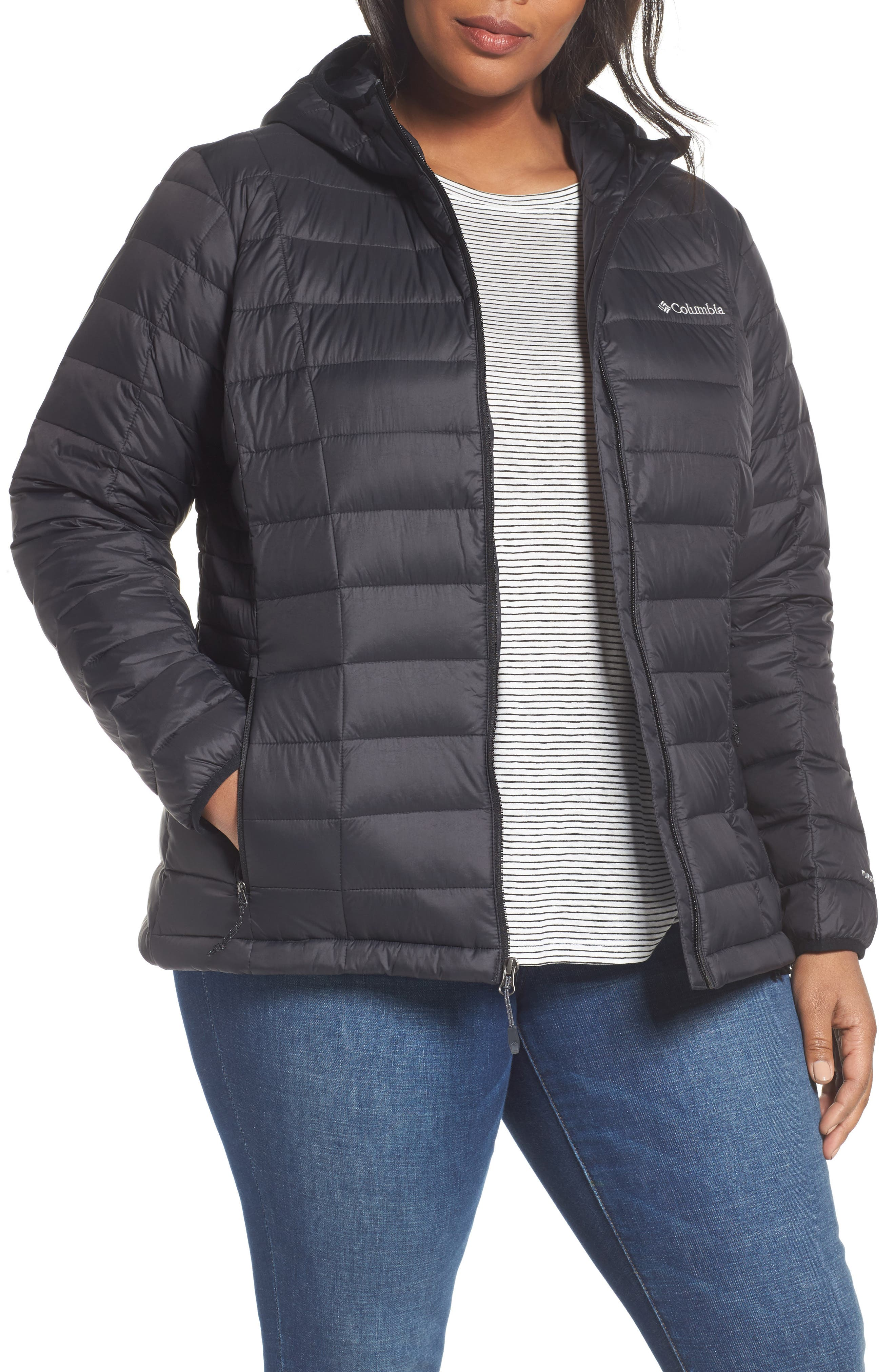 Main Image - Columbia Voodoo Falls 590 Turbodown™ Down Jacket (Plus Size)