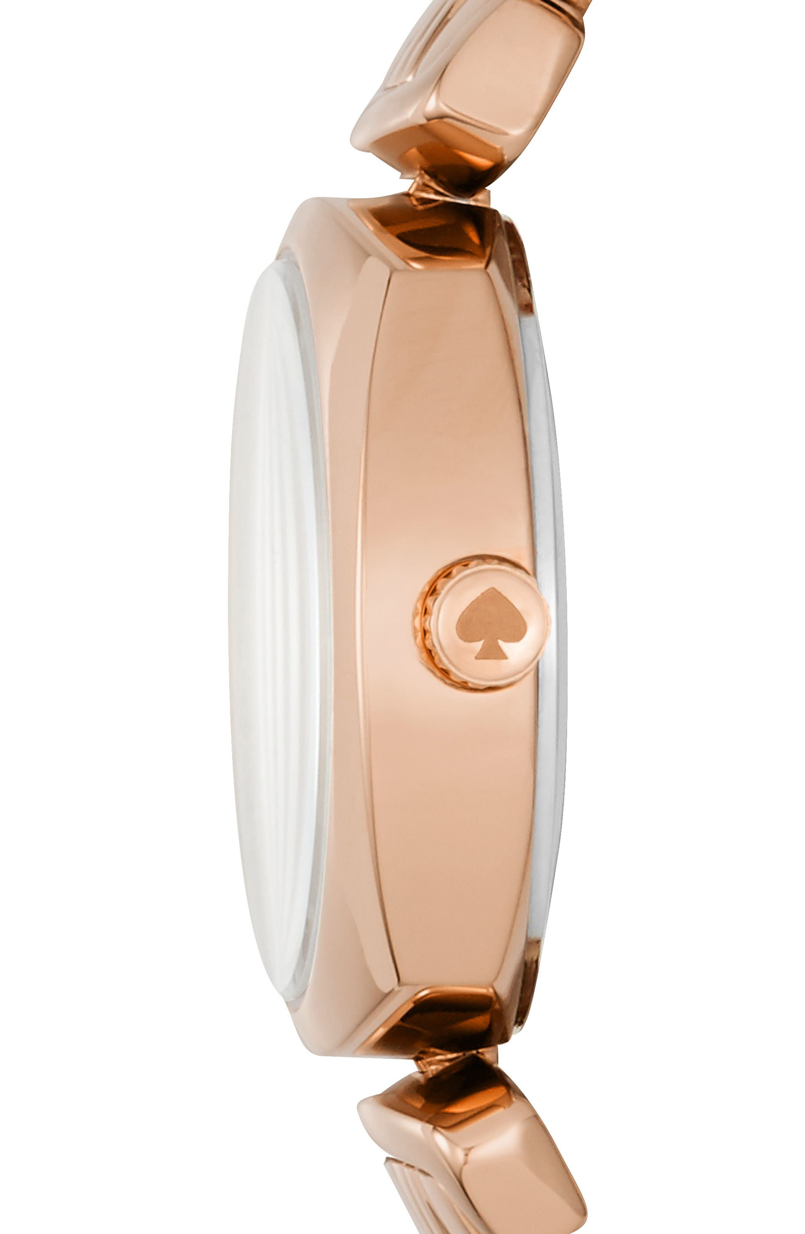 Alternate Image 3  - kate spade new york barrow leather strap watch, 24mm