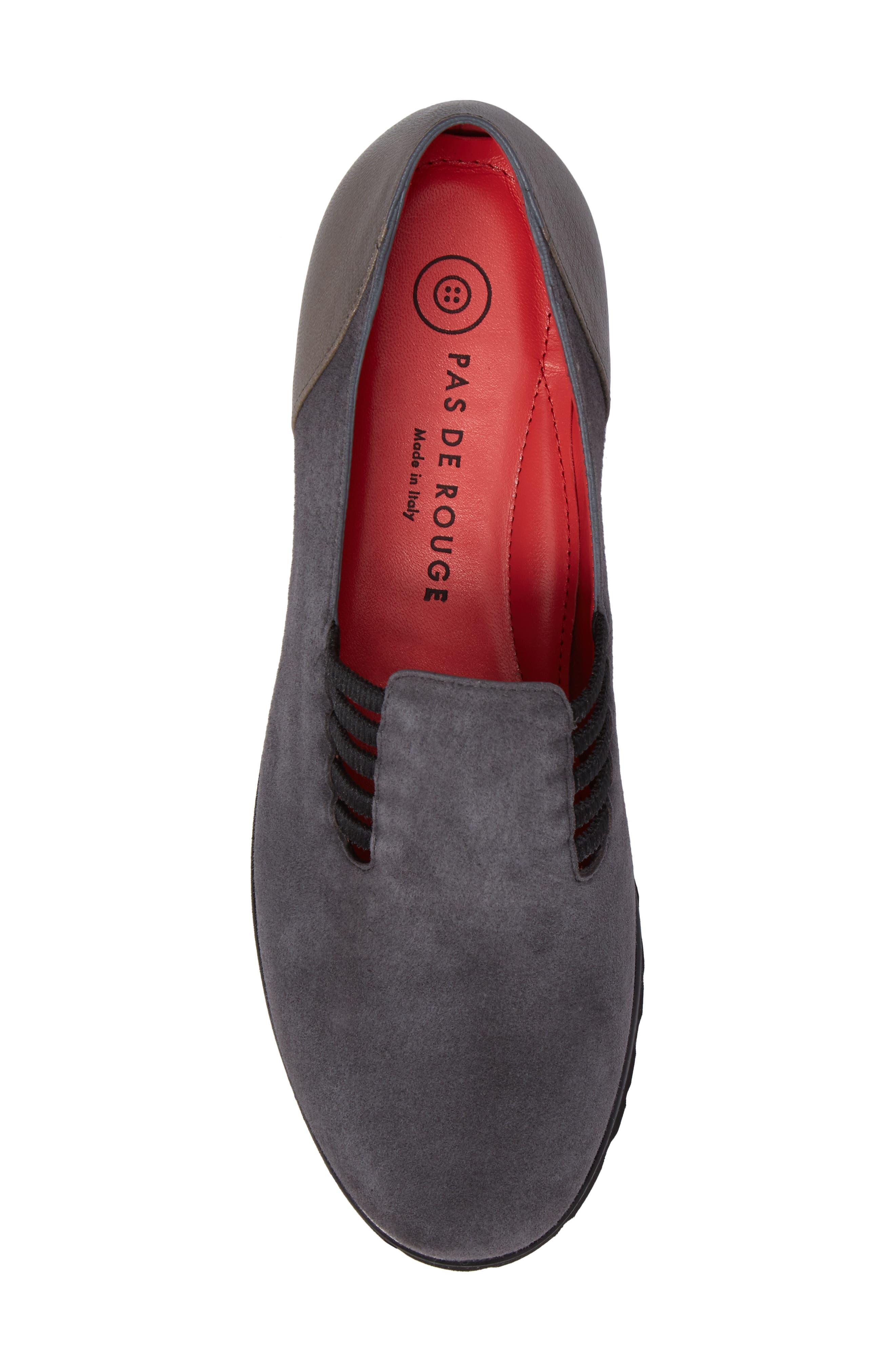 Alternate Image 5  - Pase de Rouge Double Gore Loafer (Women)