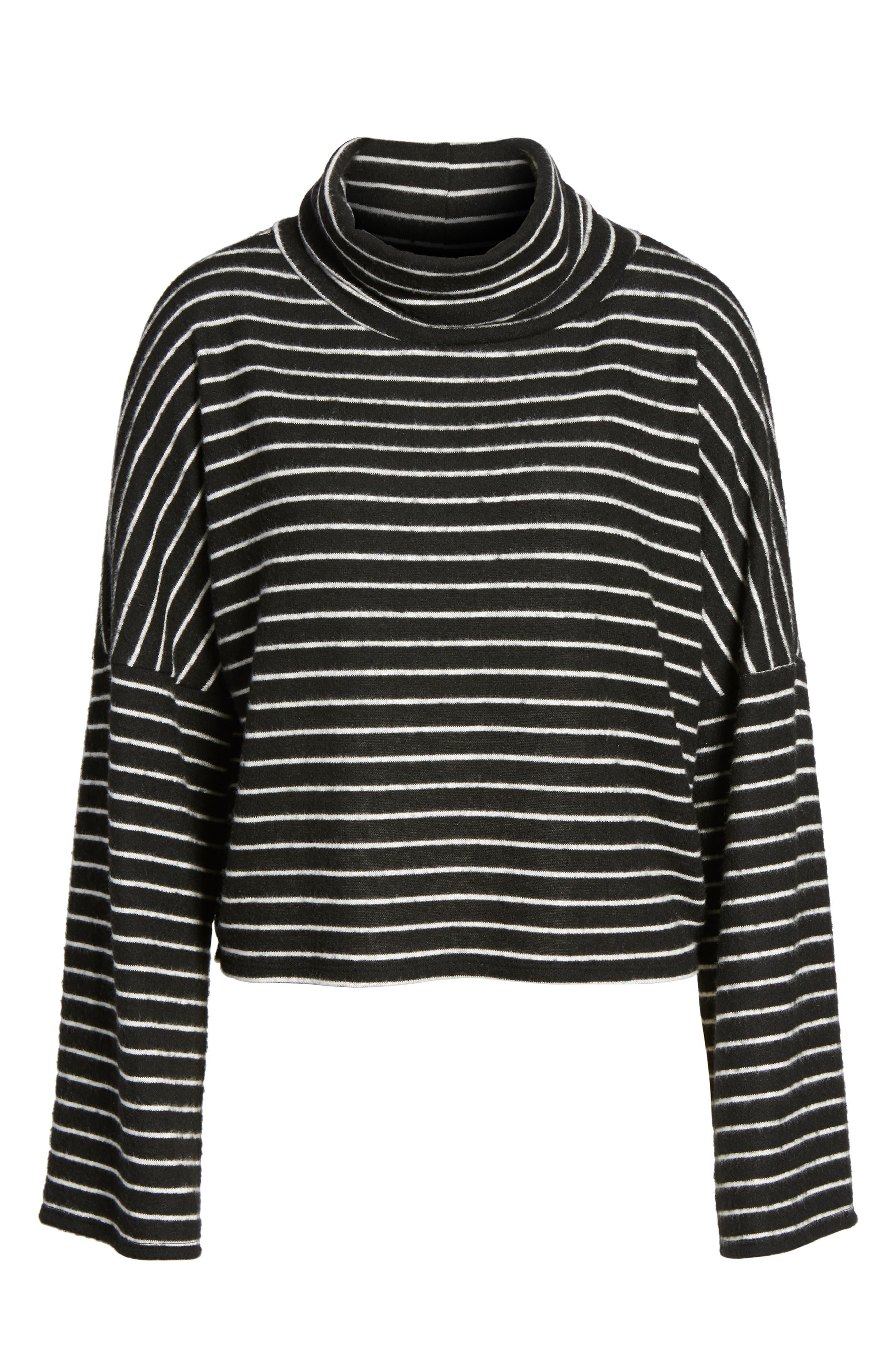 Alternate Image 6  - BP. Bell Sleeve Stripe Top