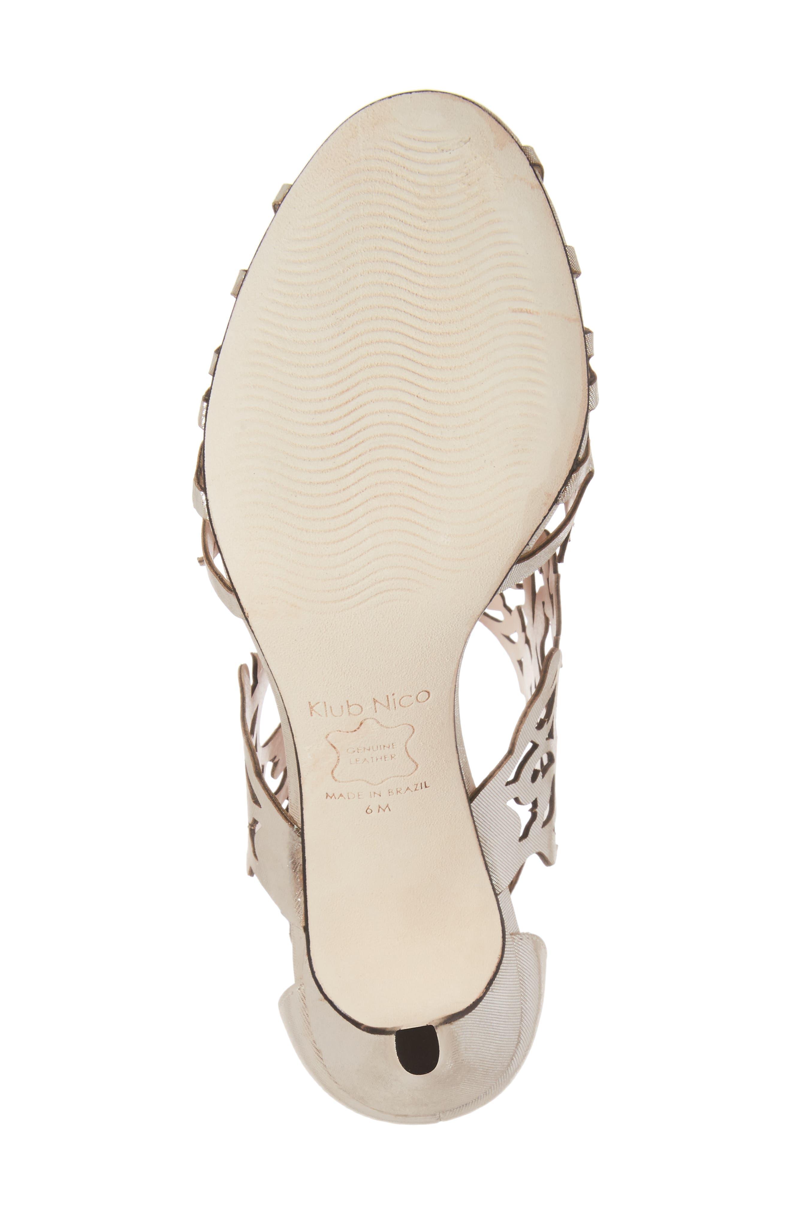 Alternate Image 6  - Klub Nico Marcela 3 Laser Cutout Sandal (Women)