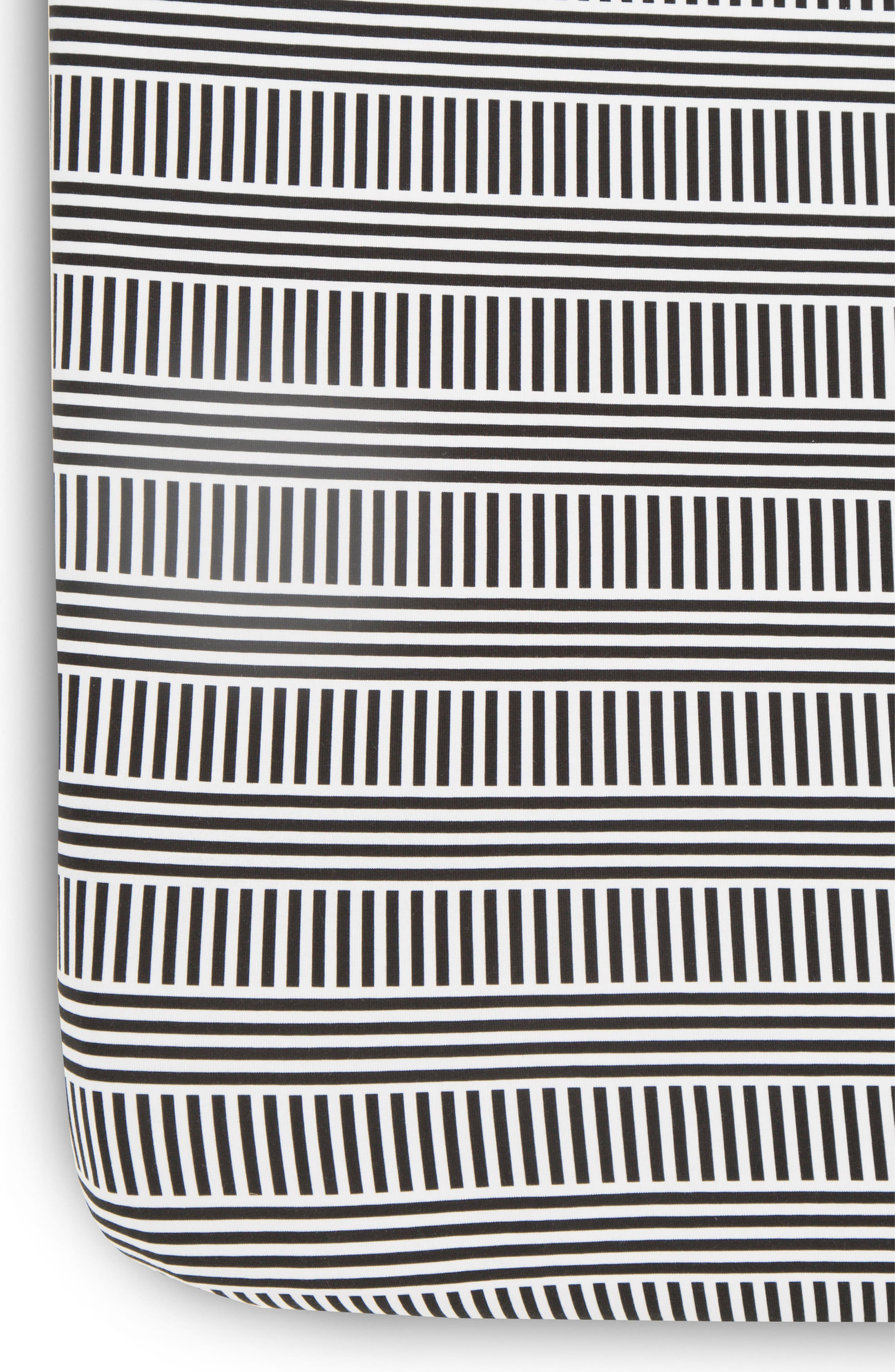 2-Pack Fitted Crib Sheets,                             Alternate thumbnail 3, color,                             Black And White