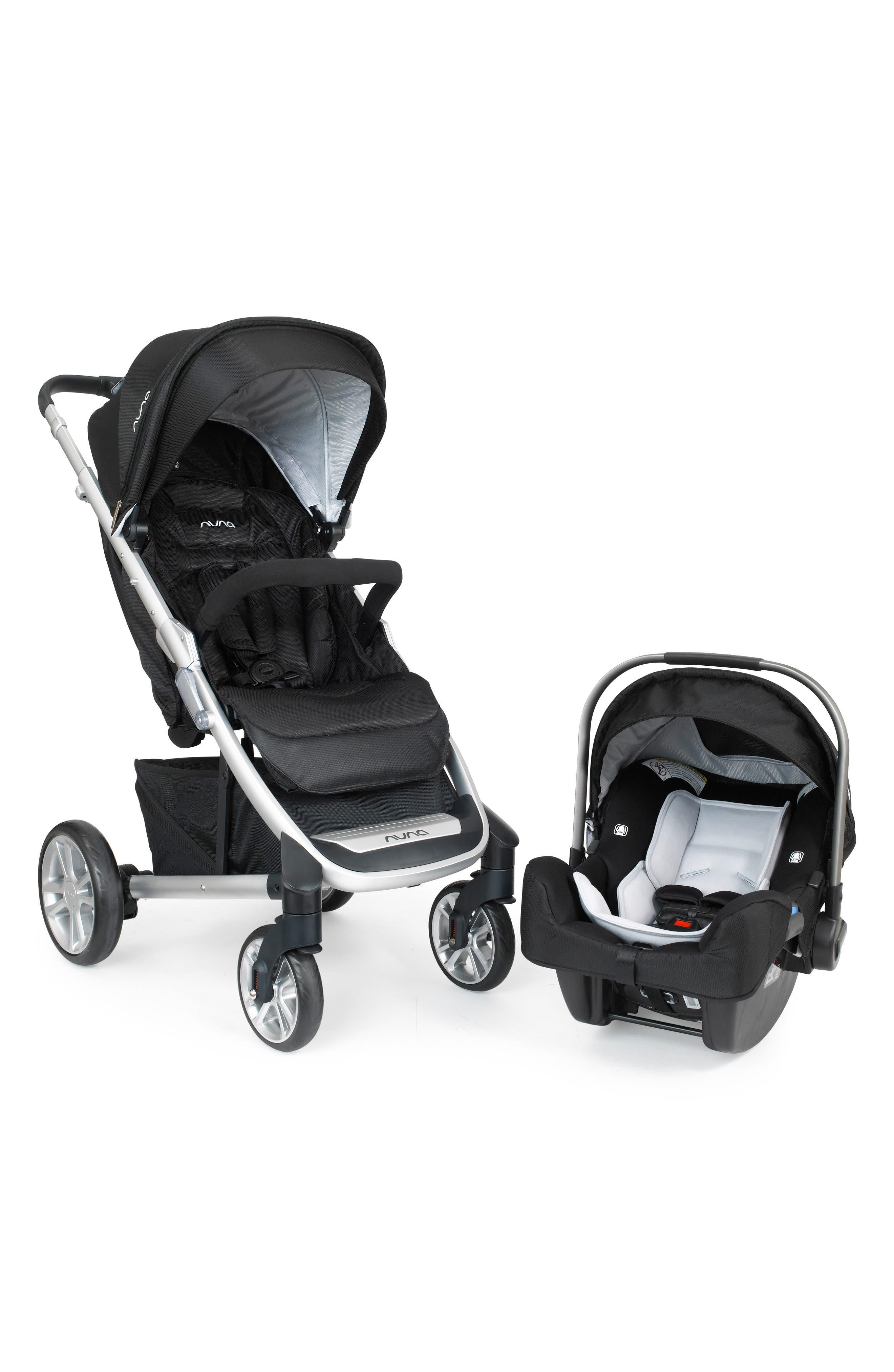 Alternate Image 1 Selected - nuna 'TAVO™' Travel System (Stroller, Car Seat & Base)