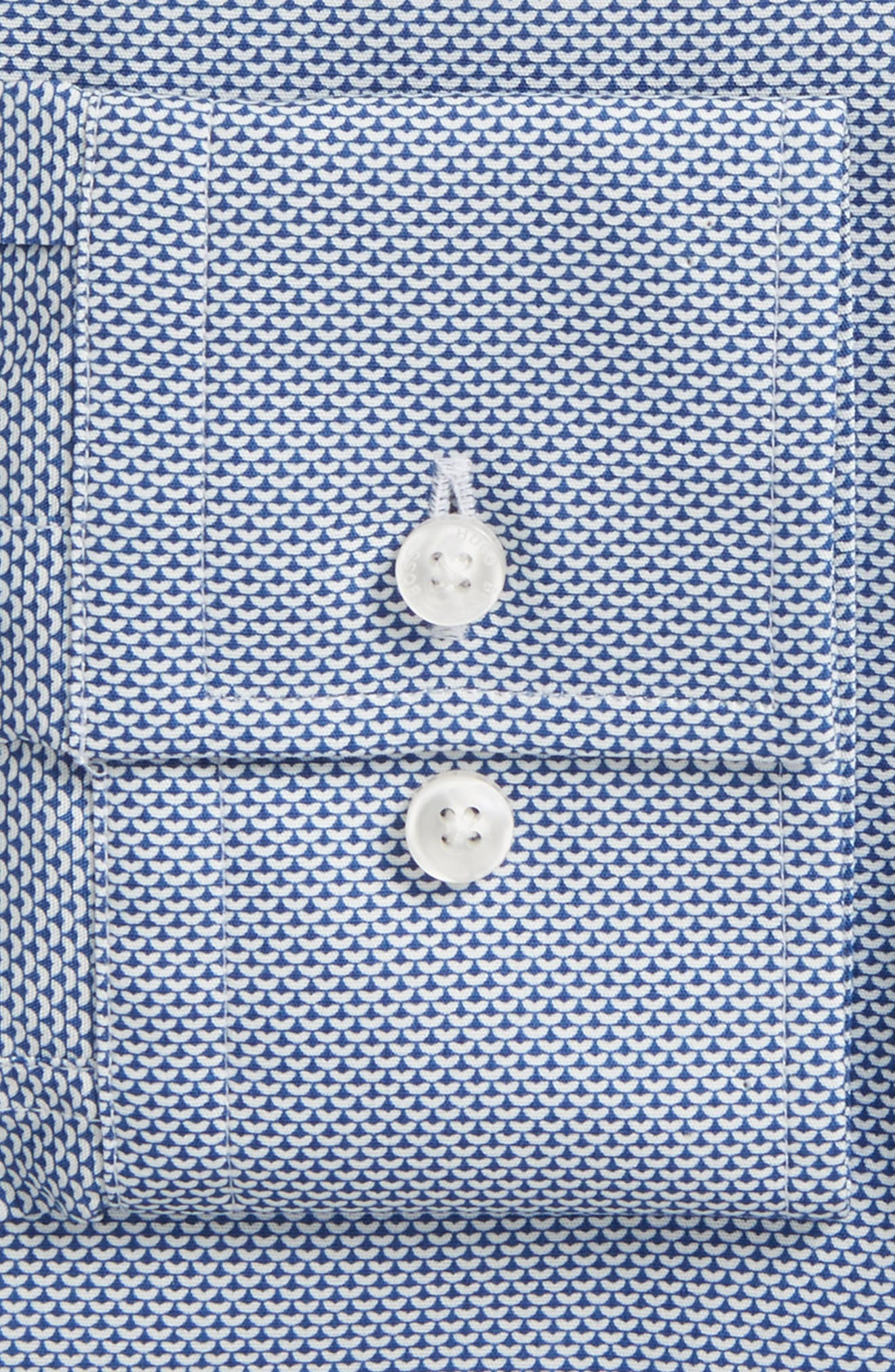 Alternate Image 2  - BOSS Jason Slim Fit Print Dress Shirt