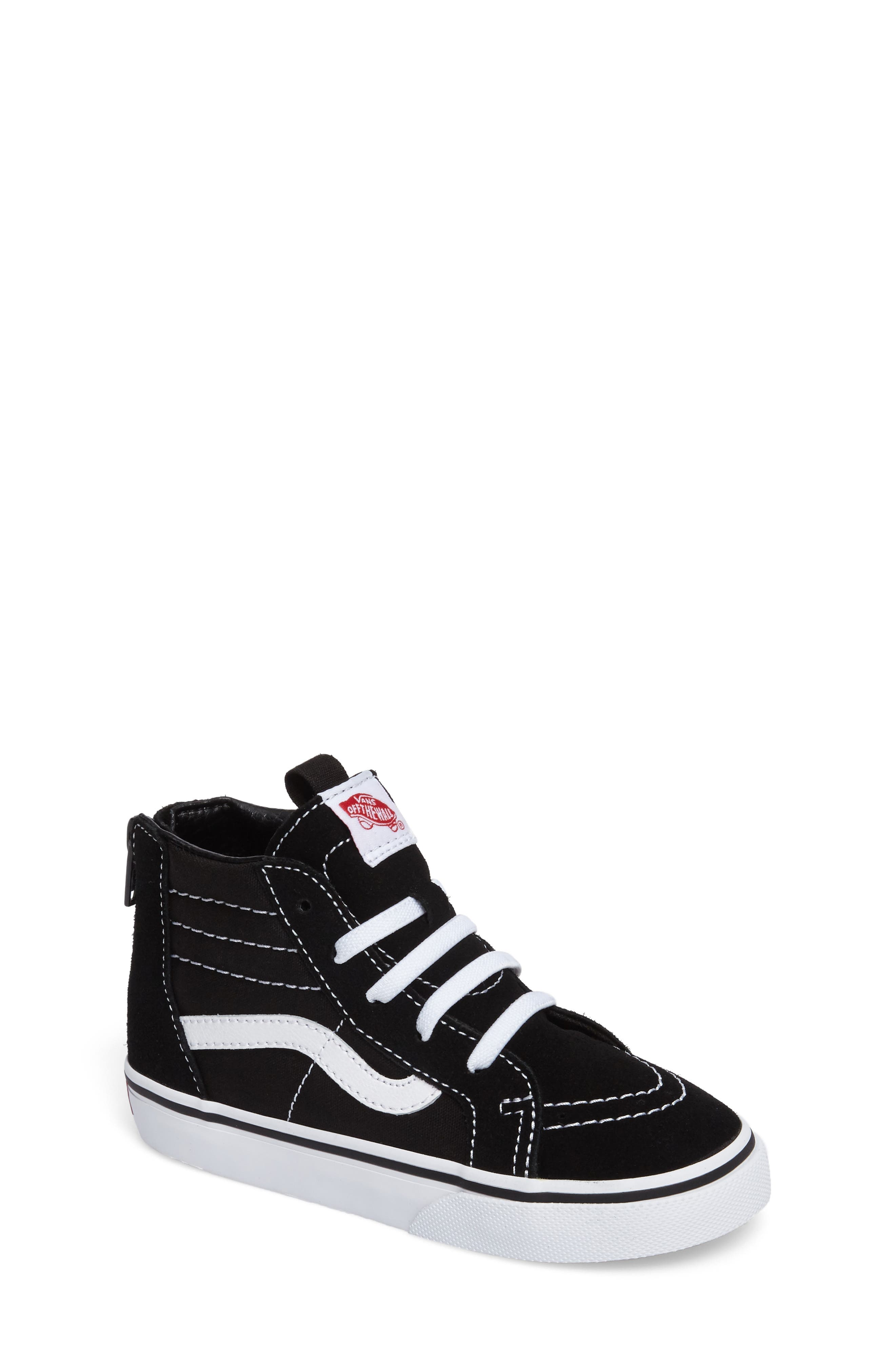 Vans SK8-Hi Zip Sneaker (Baby, Walker, Toddler, Little Kid & Big Kid)