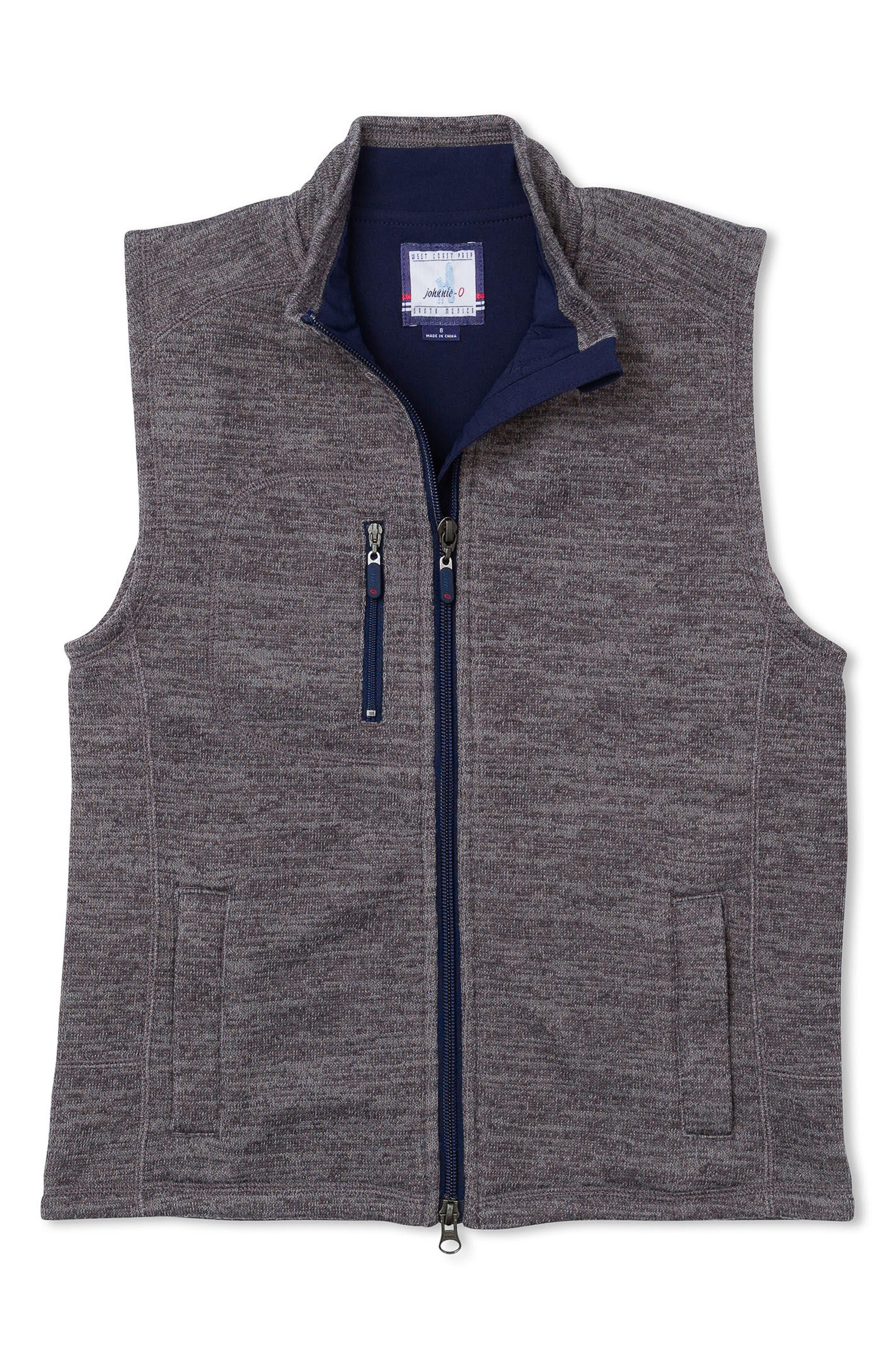 Tahoe Zip Vest,                             Main thumbnail 1, color,                             Quarry