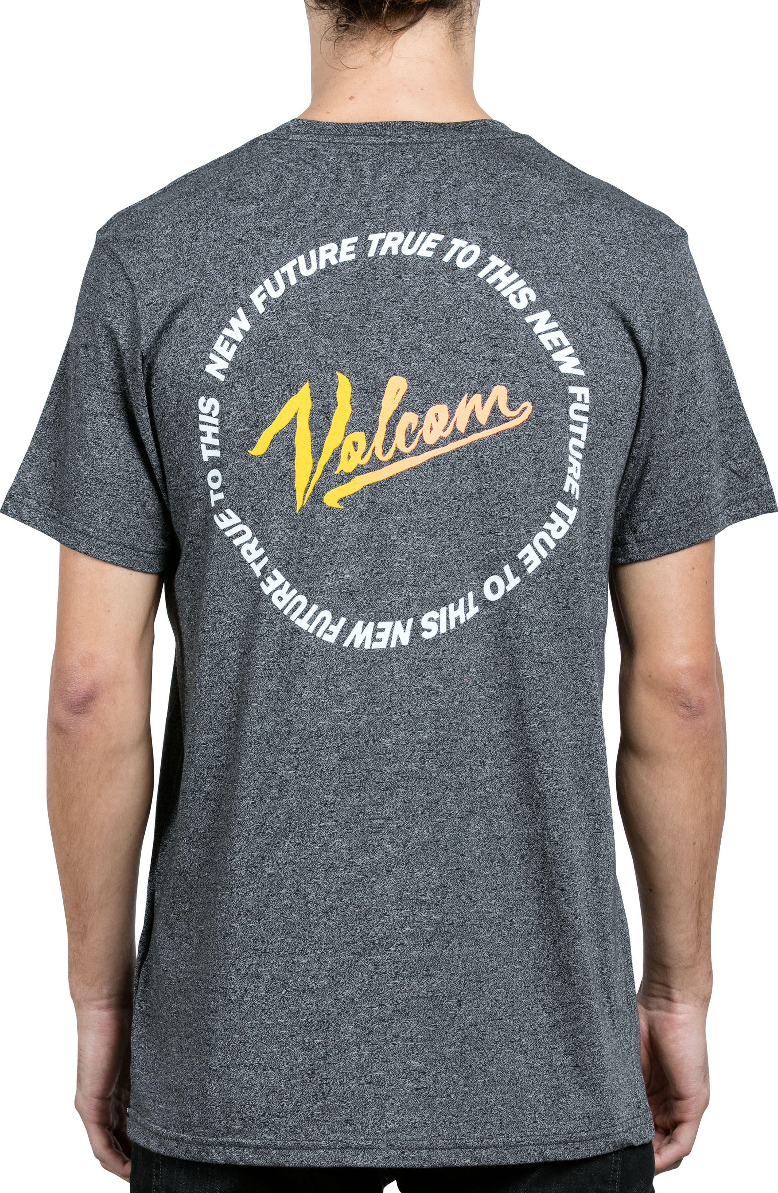 Kurrent Logo Graphic T-Shirt,                             Alternate thumbnail 2, color,                             Grey