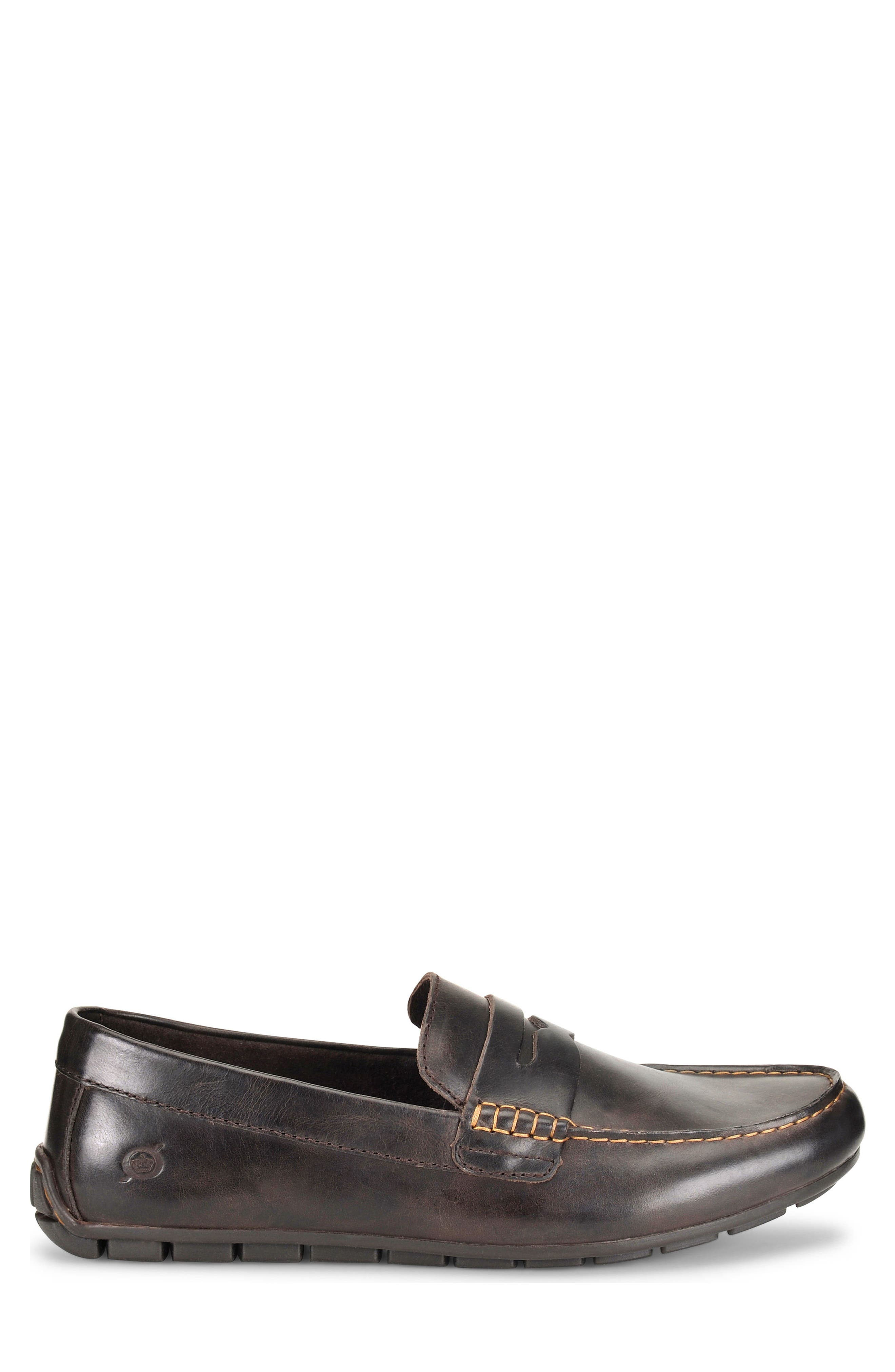 Andes Driving Shoe,                             Alternate thumbnail 3, color,                             Chocolate