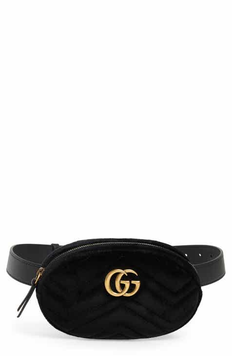 50e835fd14 Gucci Small GG Marmont 2.0 Velvet Belt Bag