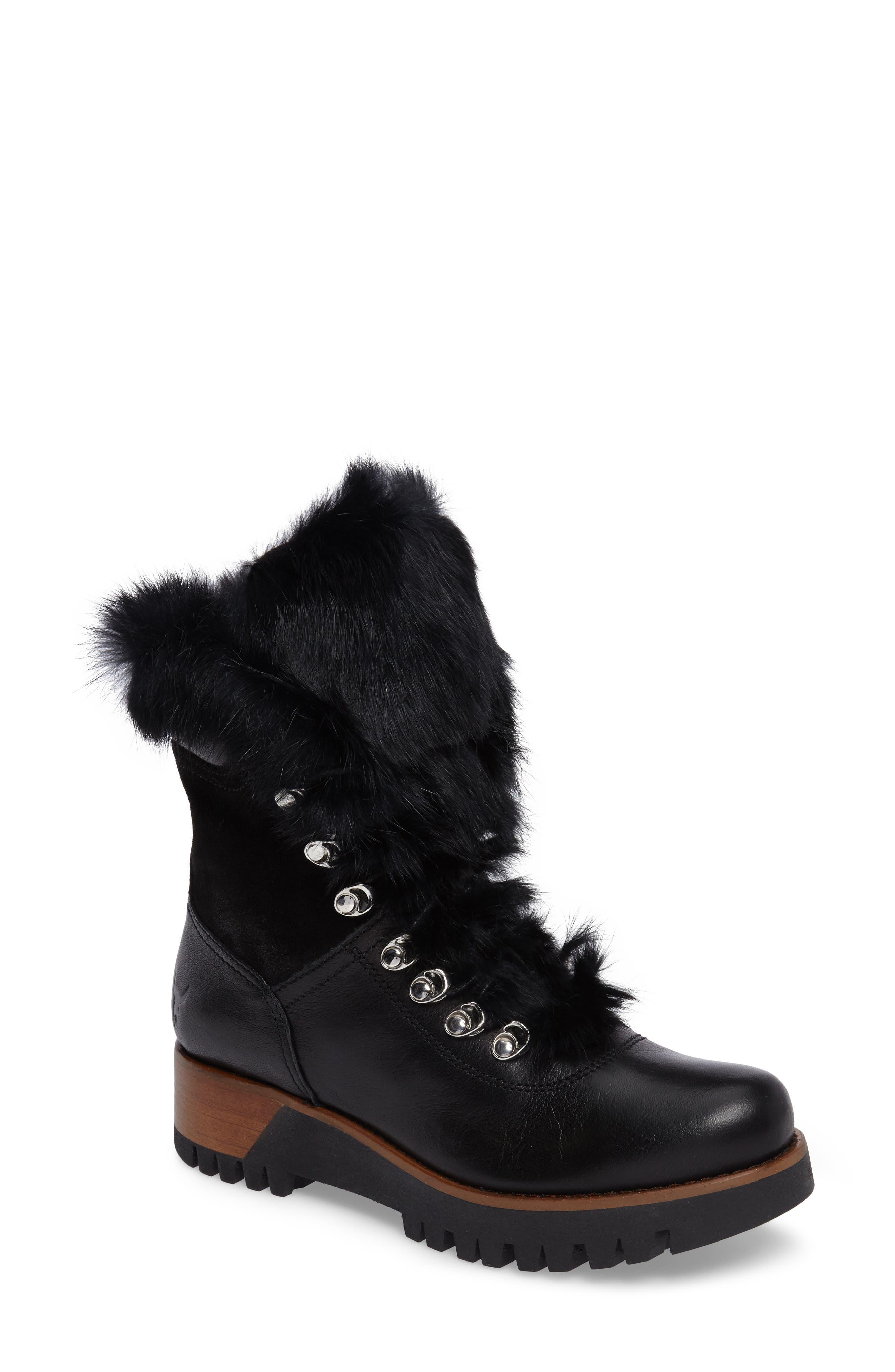 Rudsak Tsar Genuine Rabbit Fur Boot (Women)