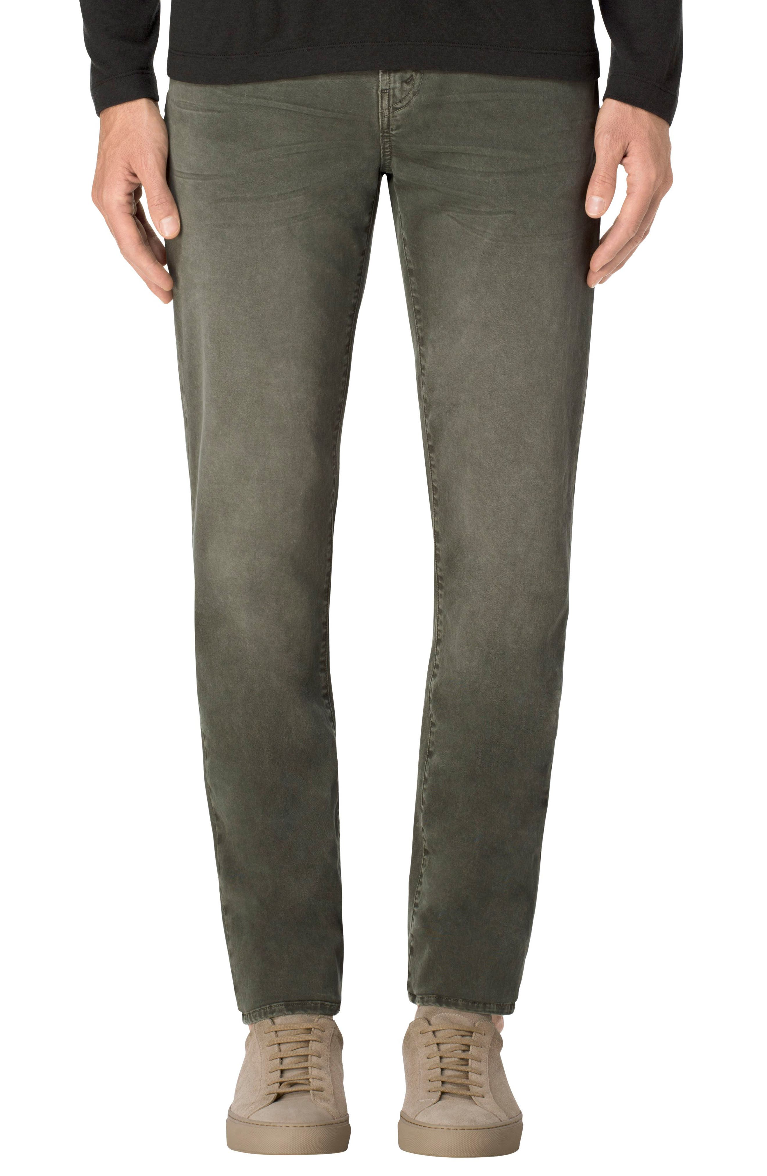 Tyler Slim Fit Jeans,                         Main,                         color, Thrashed Petri
