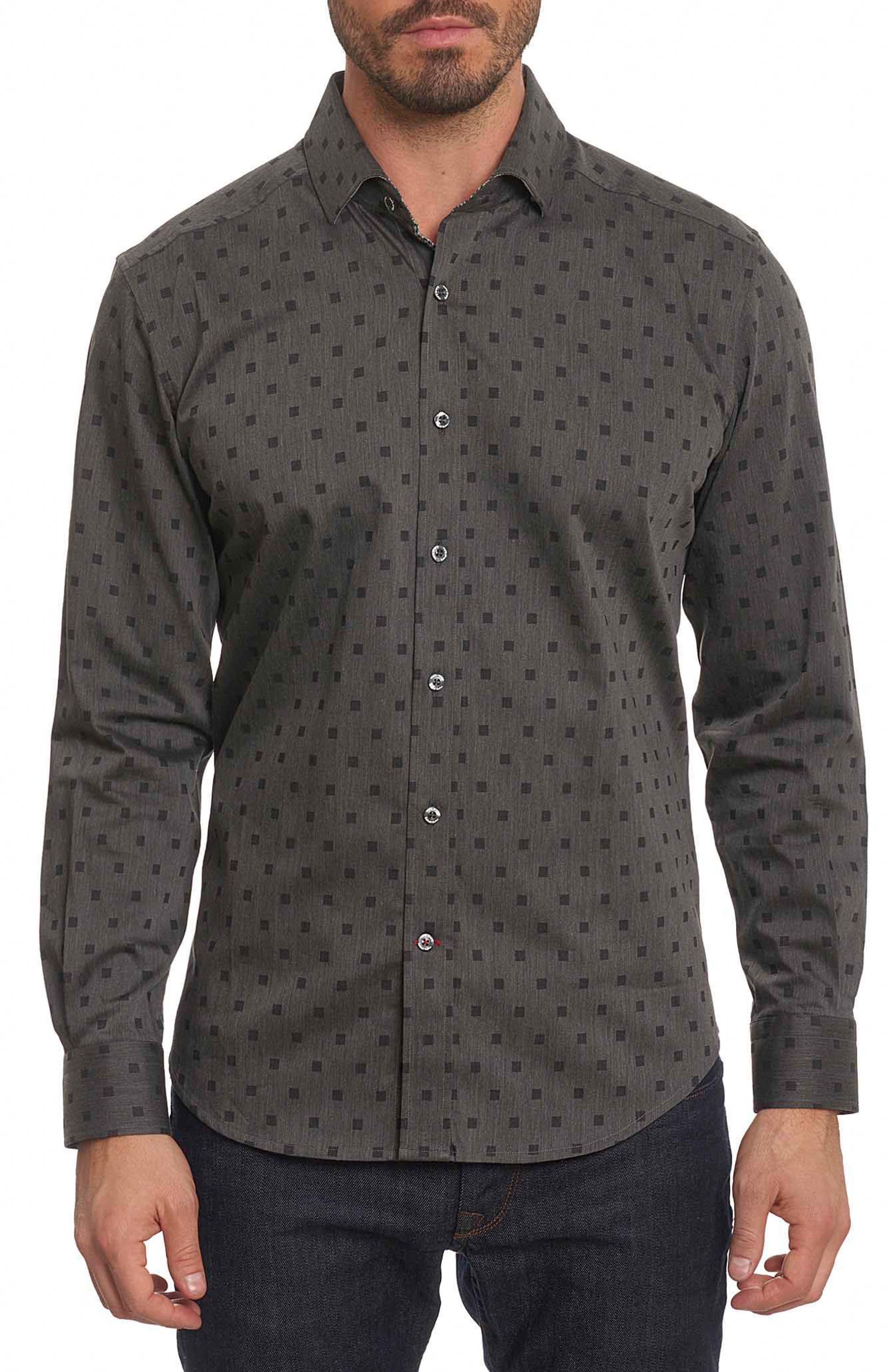 Main Image - Robert Graham Gabe Tailored Fit Sport Shirt