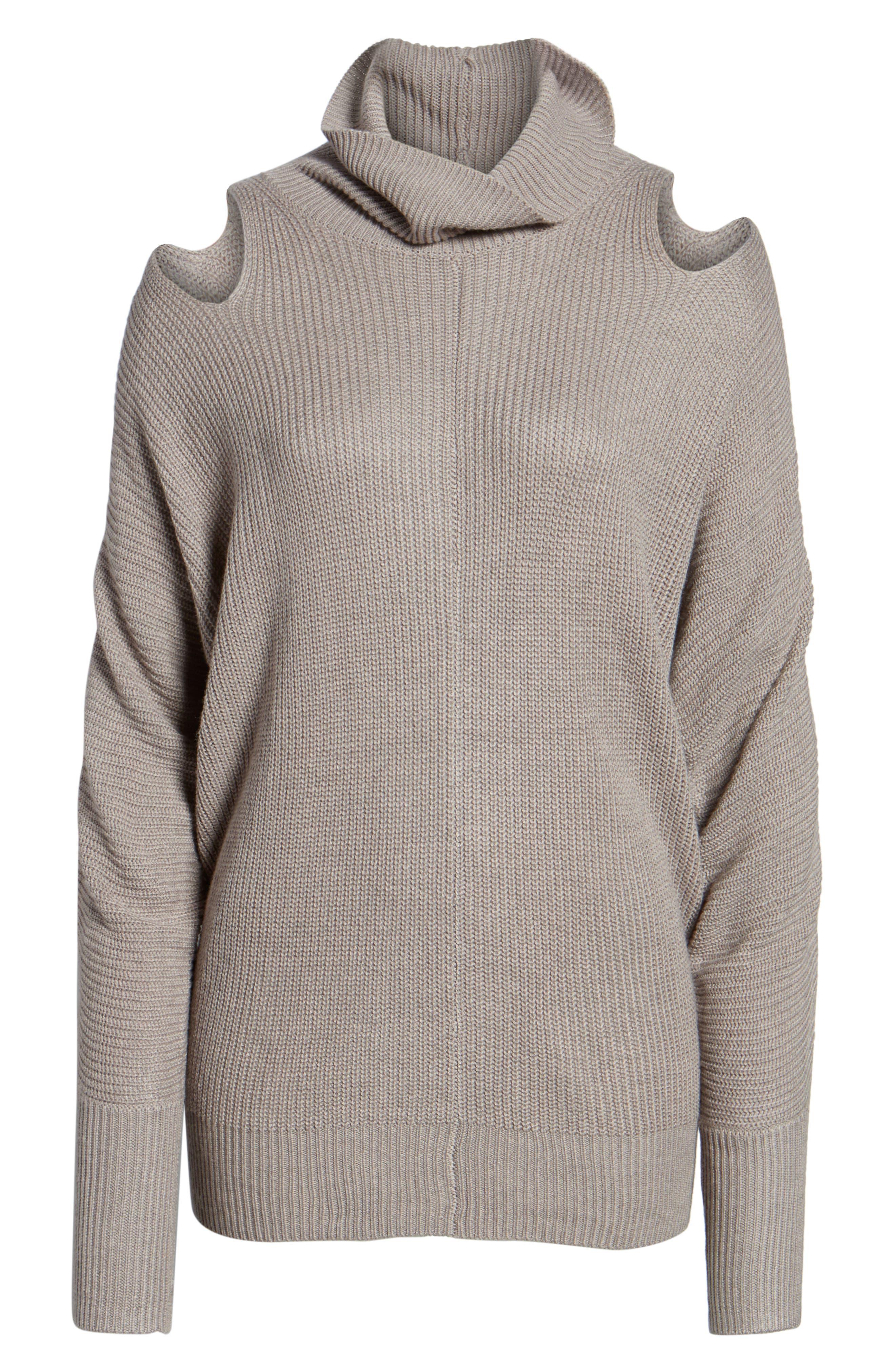 Ella Moss Cutout Sweater