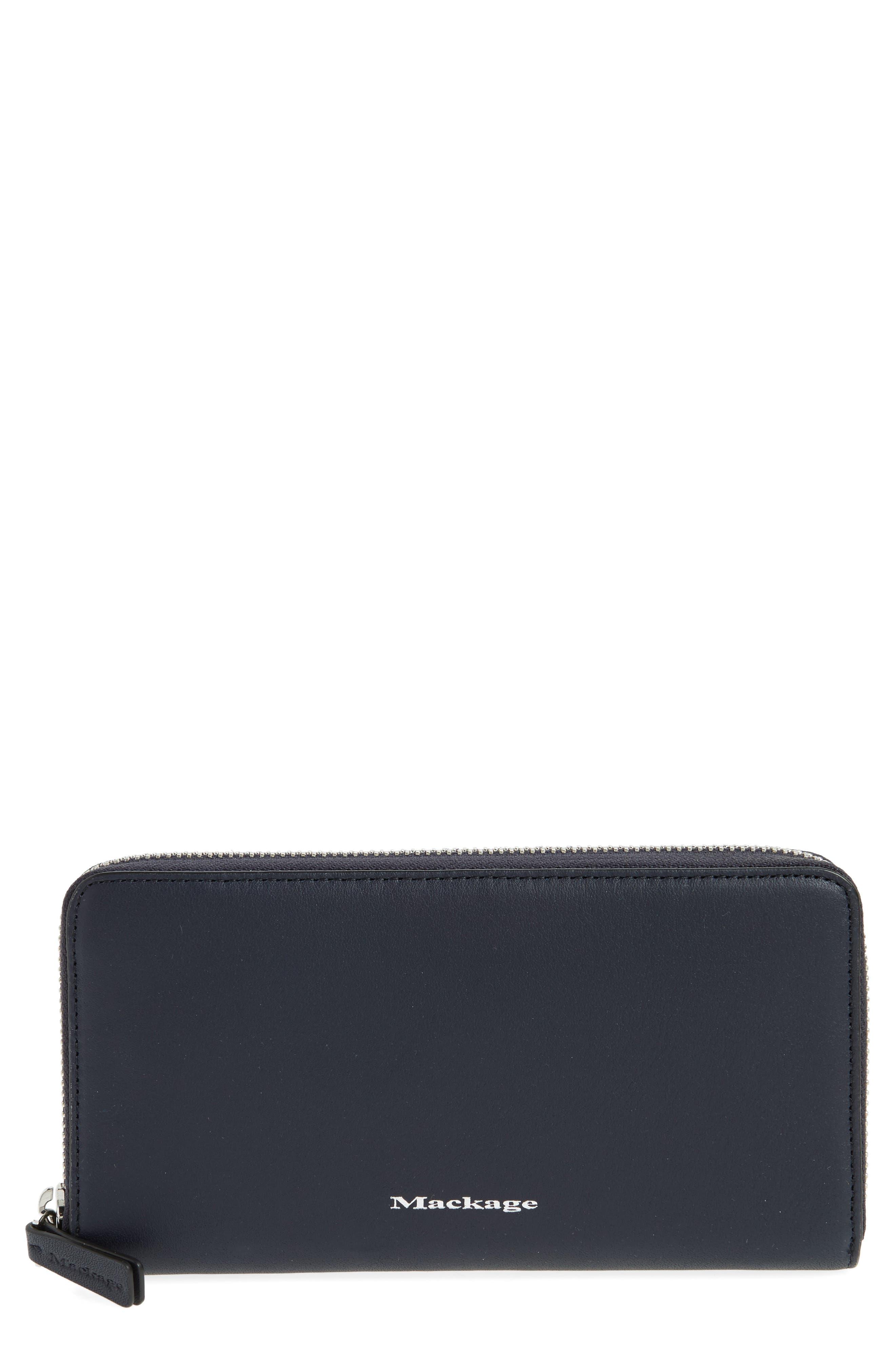 Alternate Image 1 Selected - Mackage Duke Zip Around Leather Wallet