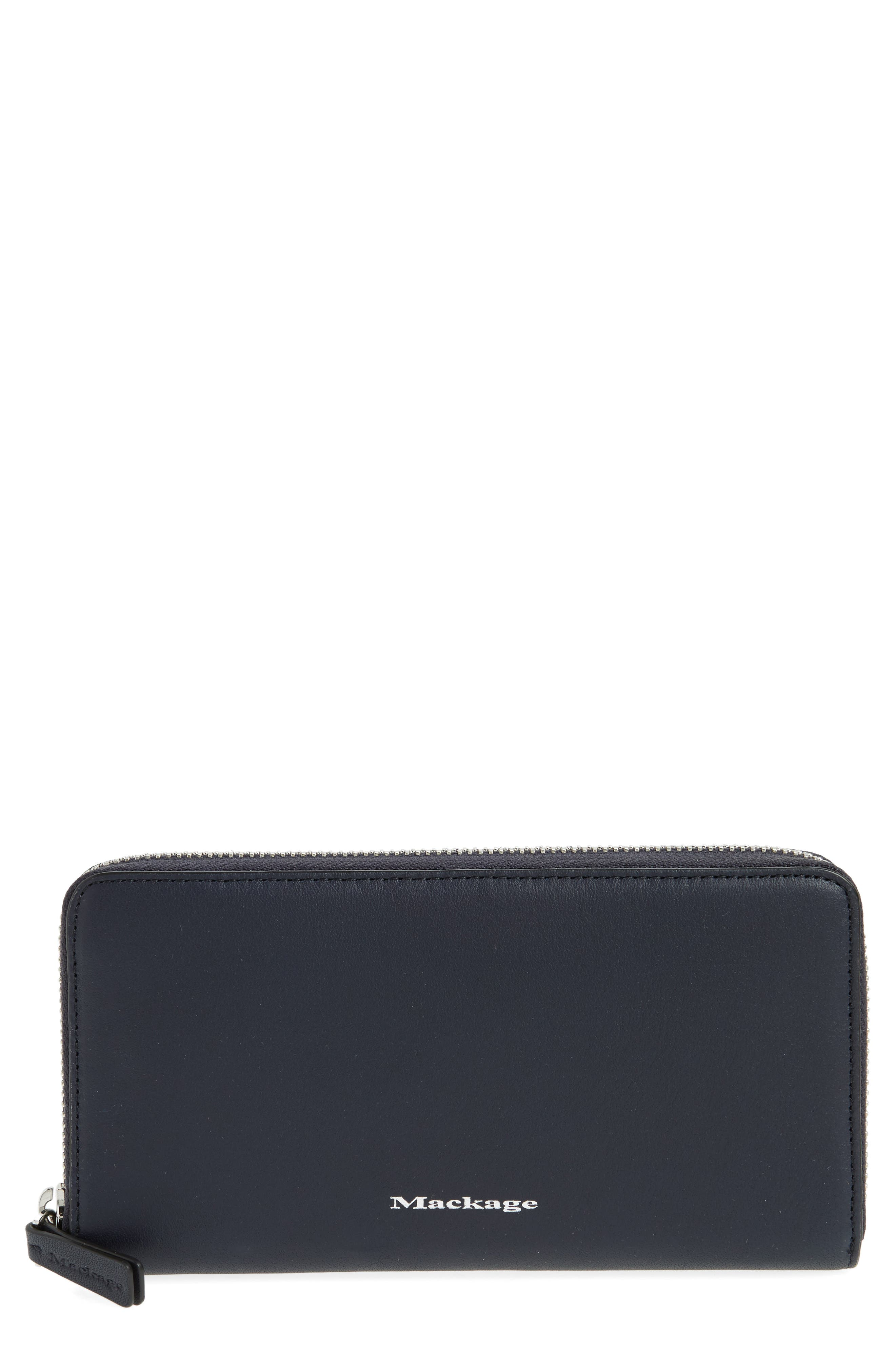 Main Image - Mackage Duke Zip Around Leather Wallet