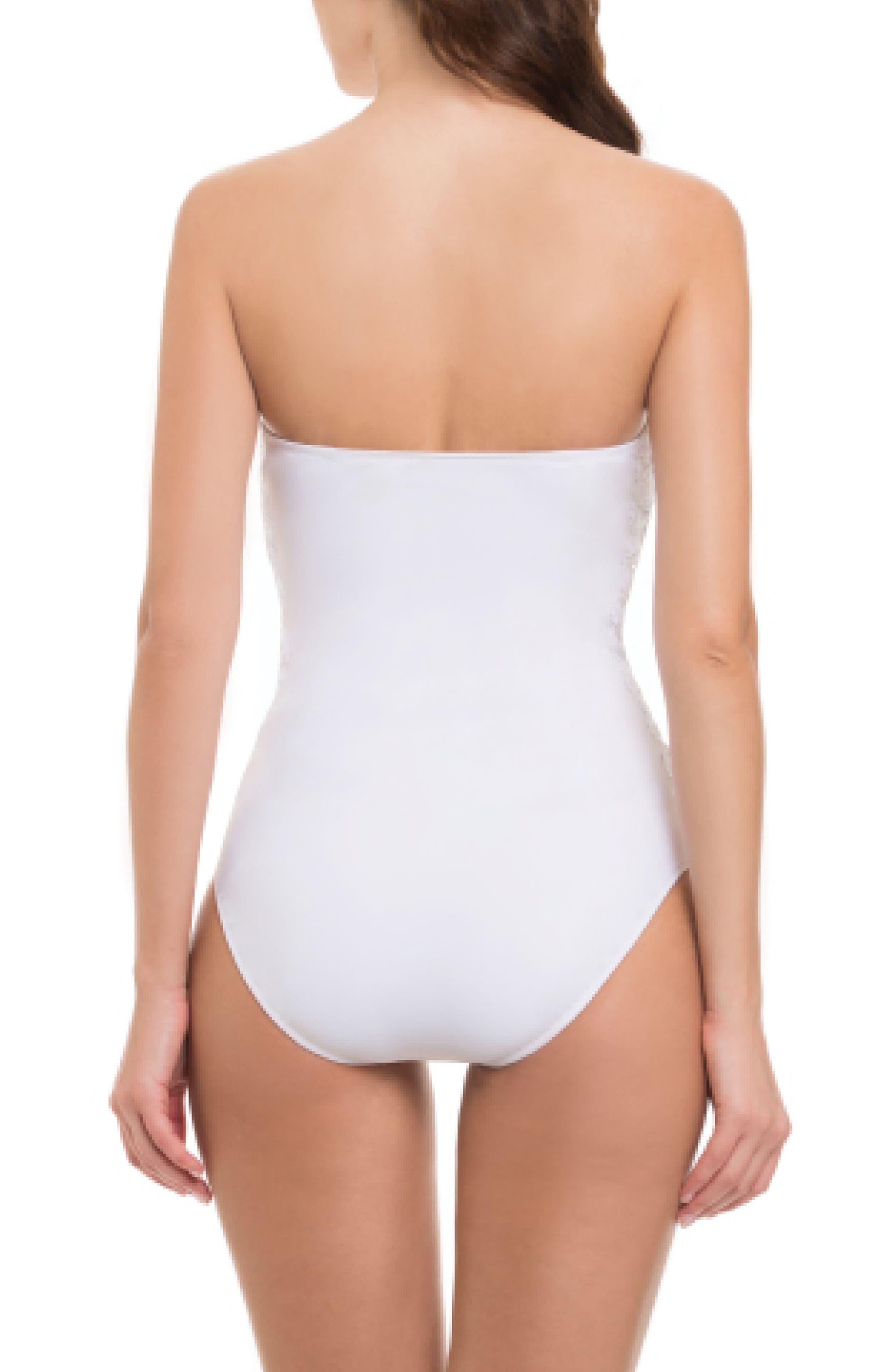 Alternate Image 2  - Profile by Gottex Allure Bandeau One-Piece Swimsuit