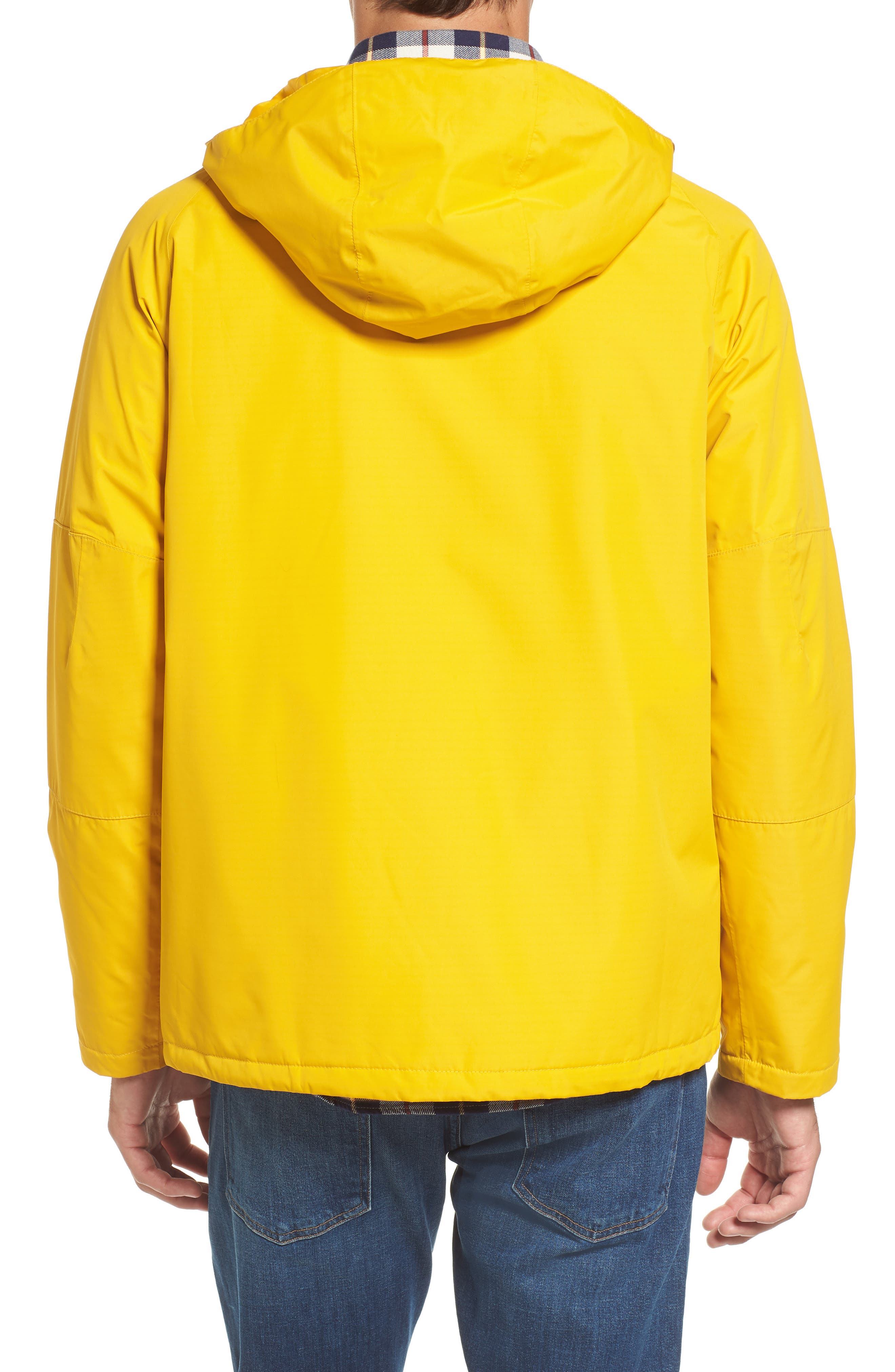 Rydal Waterproof Hooded Jacket,                             Alternate thumbnail 2, color,                             Canary Yellow