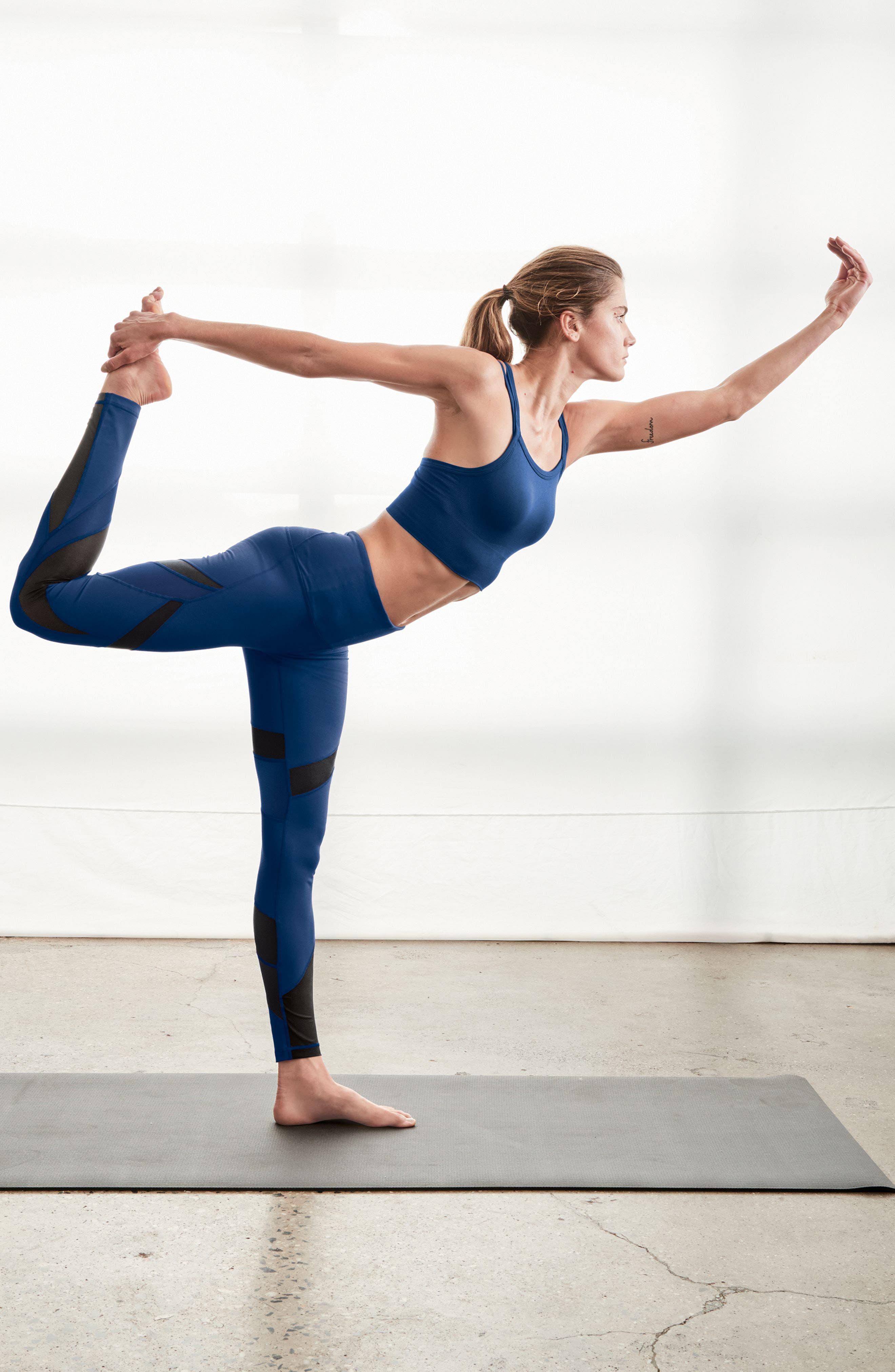 Alternate Image 7  - Zella Define High Waist Leggings