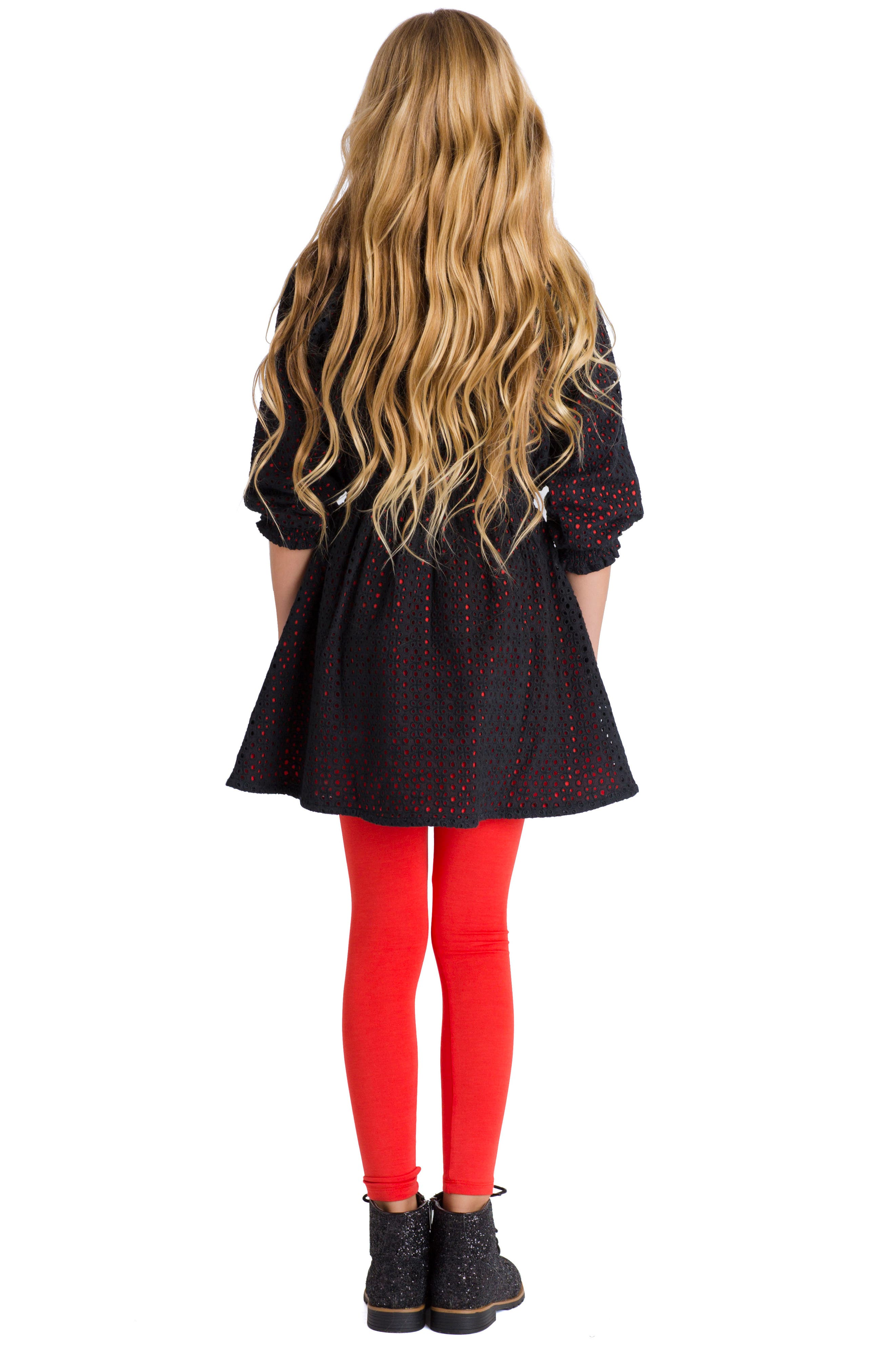 Spellbound Dress,                             Alternate thumbnail 3, color,                             Black