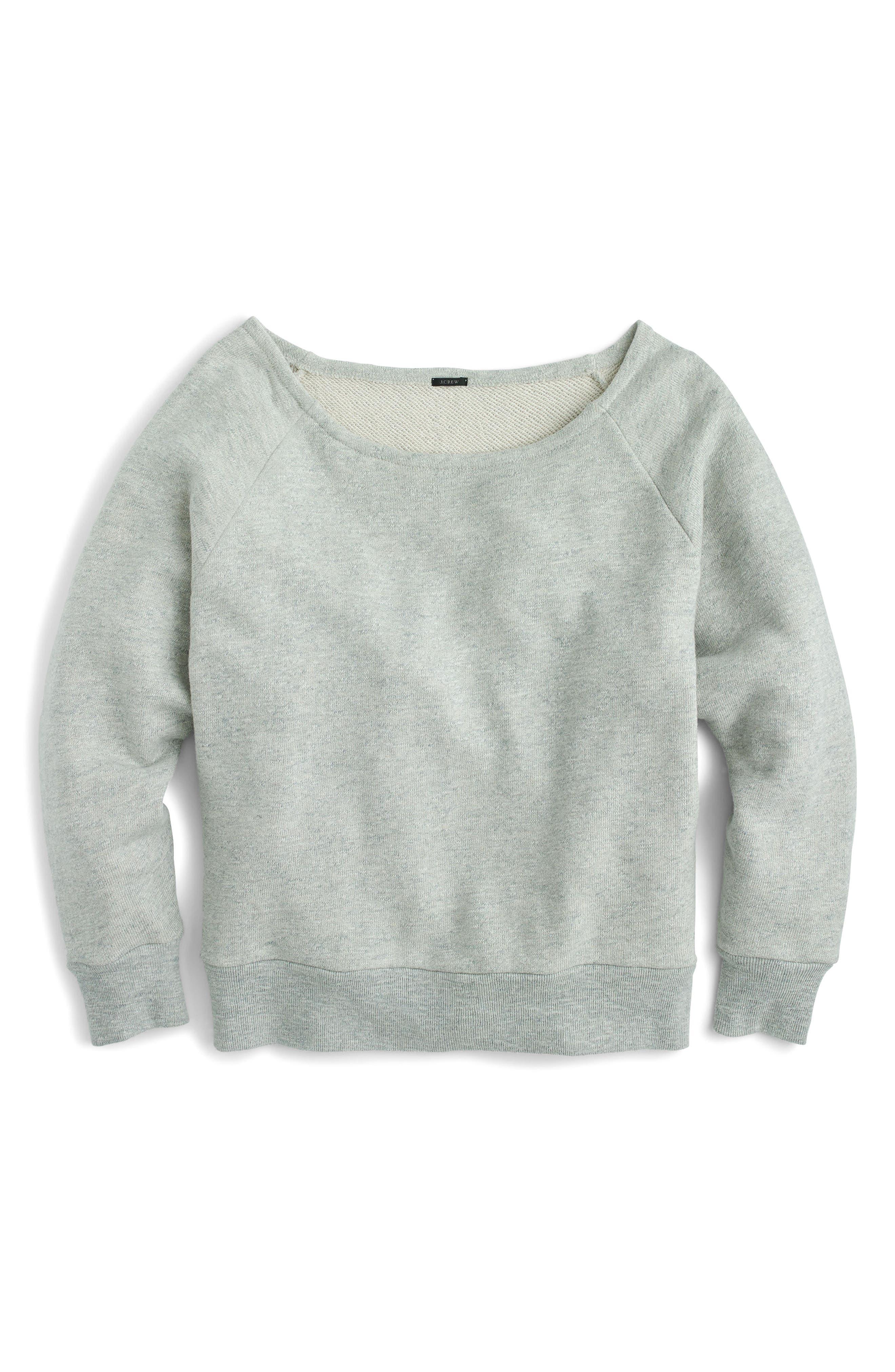 Alternate Image 3  - J.Crew Easy Sweatshirt