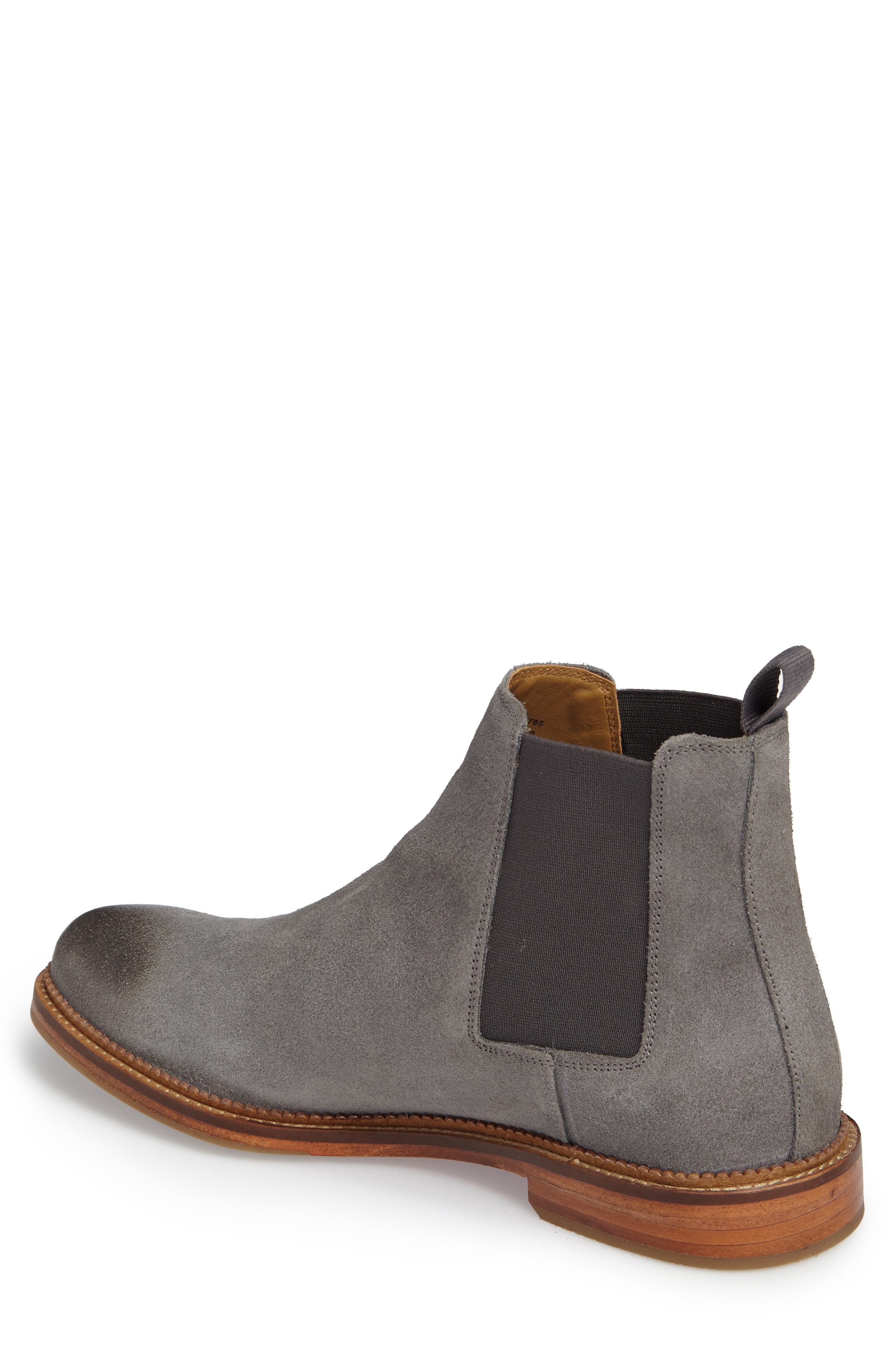 Jamie Chelsea Boot,                             Alternate thumbnail 2, color,                             Magnet Suede