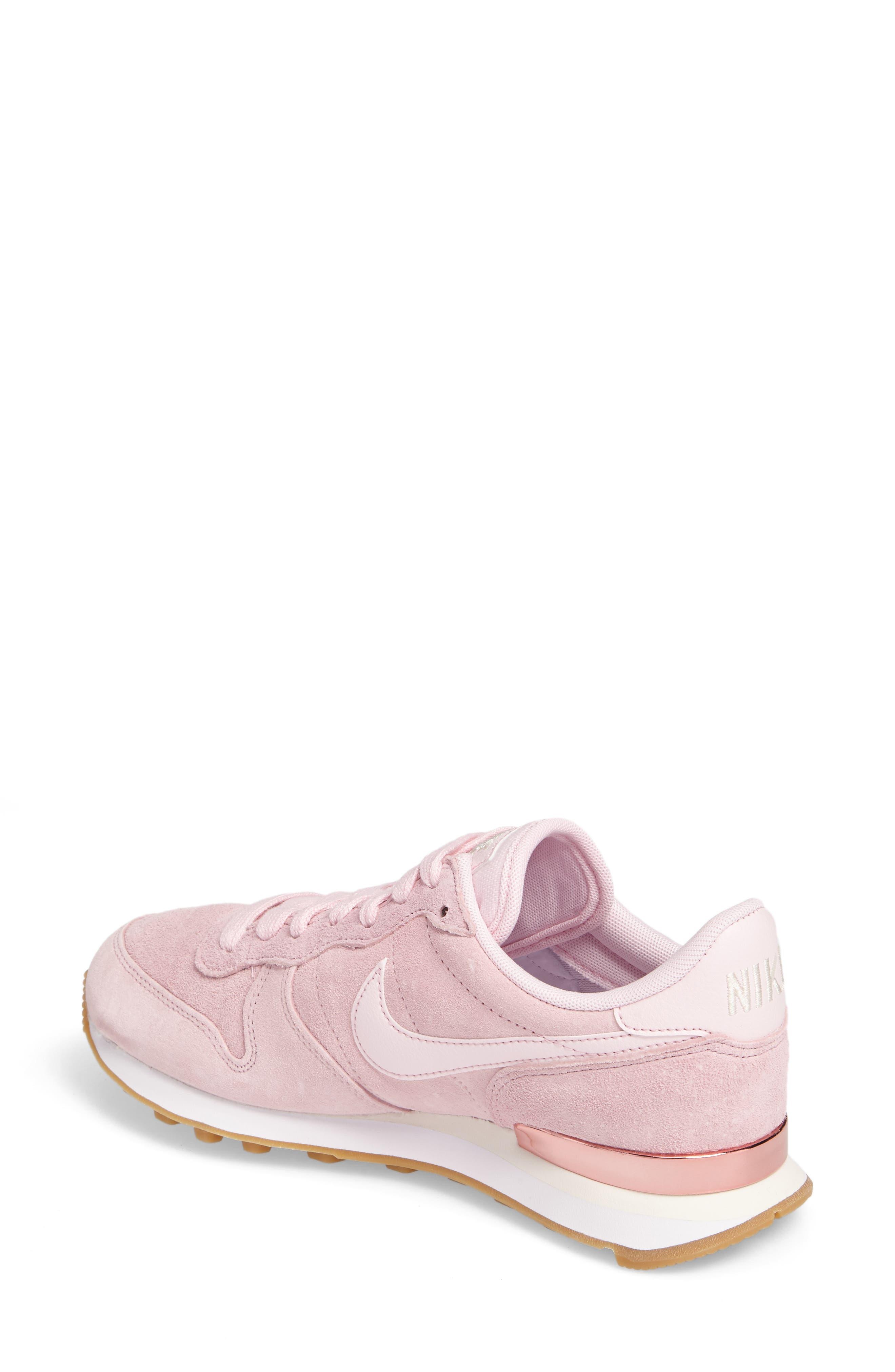 Internationalist SD Sneaker,                             Alternate thumbnail 2, color,                             Prism Pink/ Prism Pink