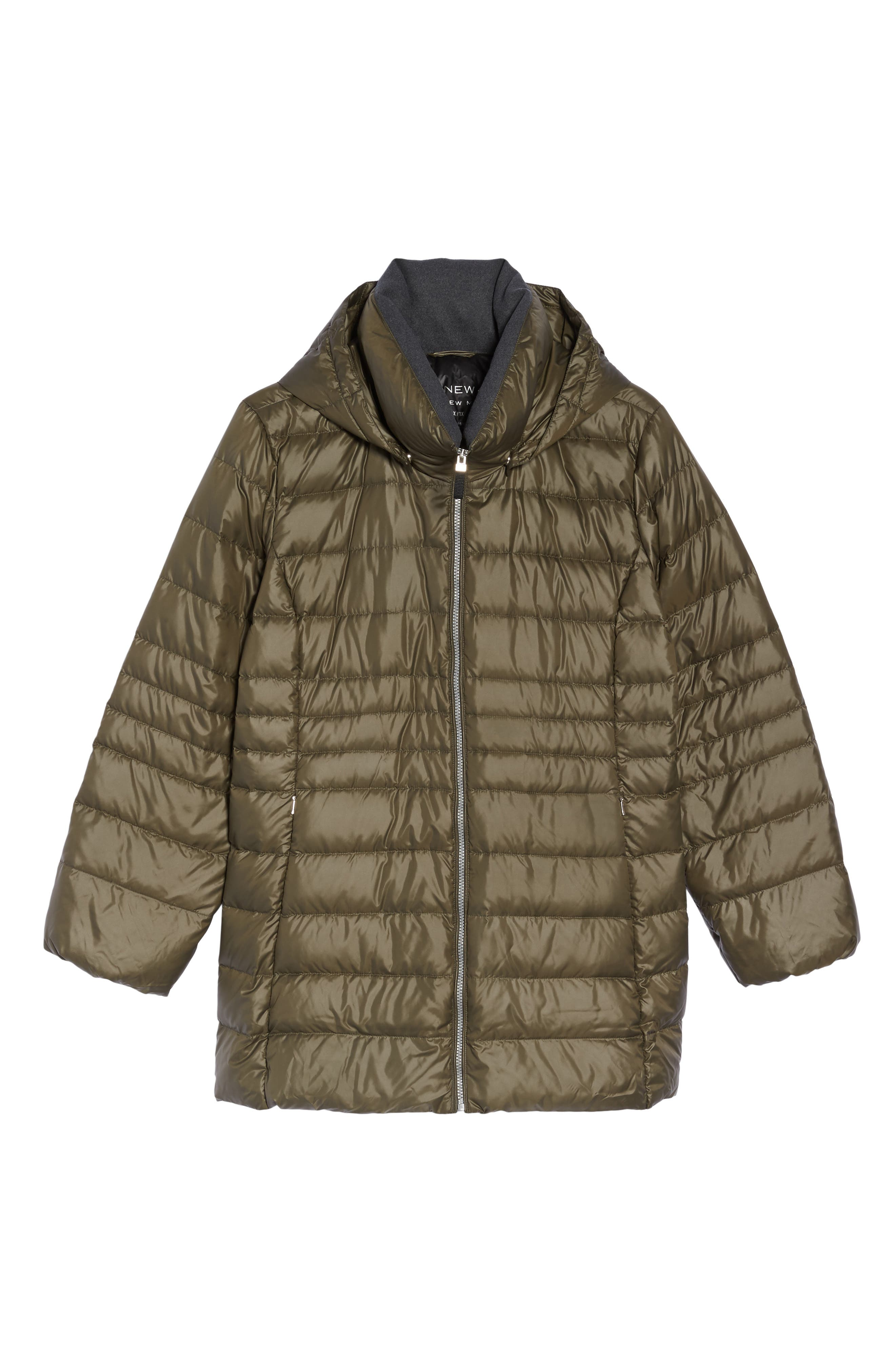 Alternate Image 6  - Andrew Marc Erin Hooded Down Coat (Plus Size)