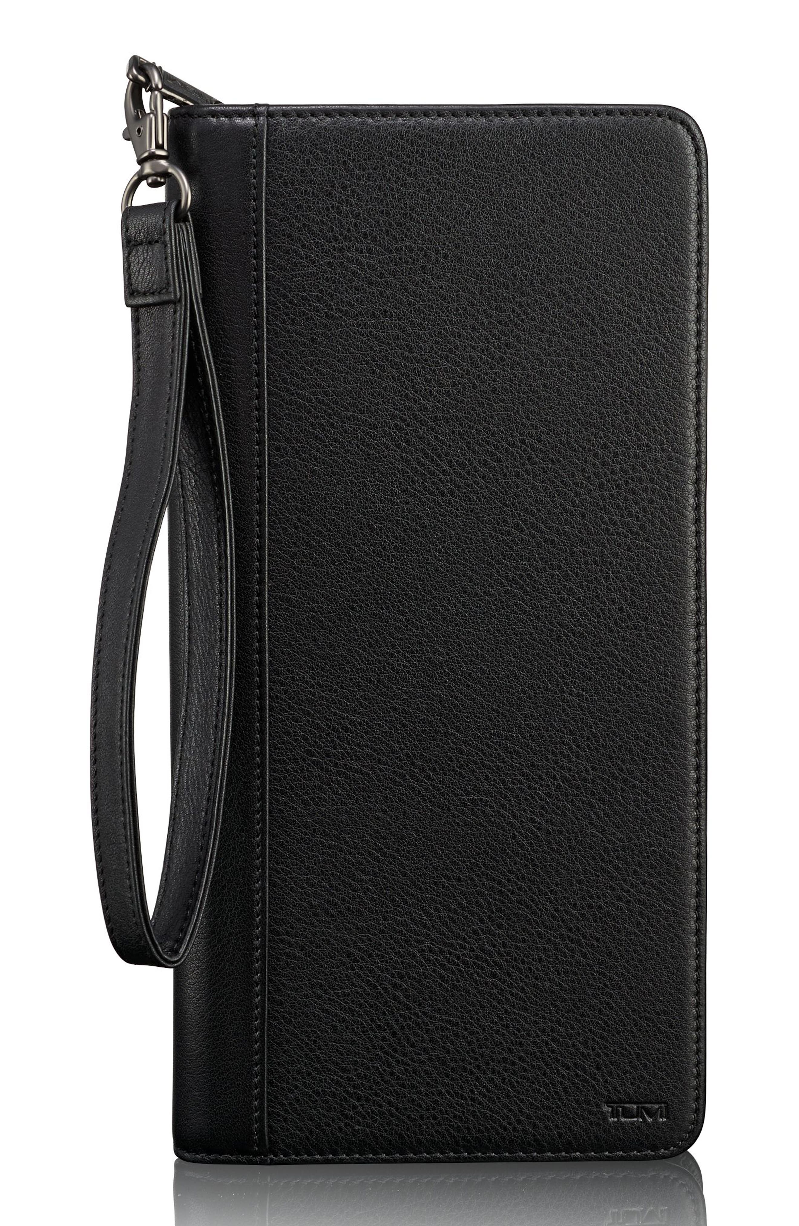 Tumi Leather Zip Wallet
