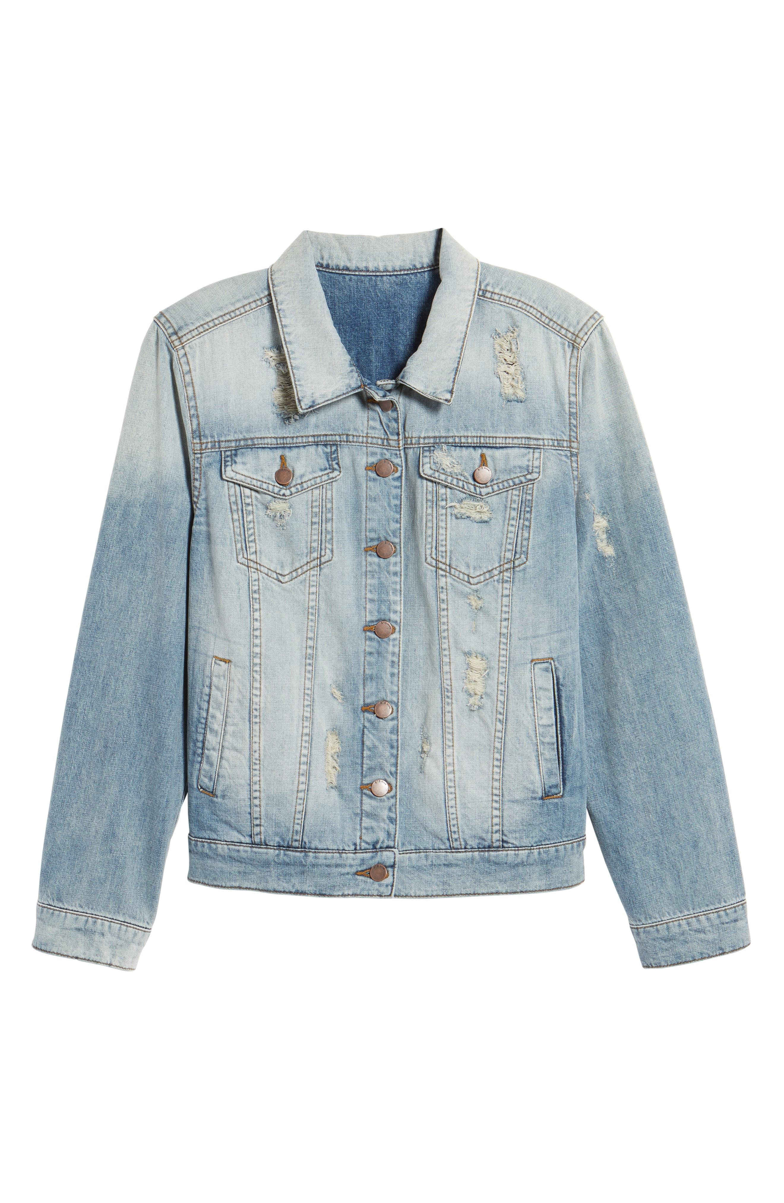 Alternate Image 6  - STS Blue Been There Denim Jacket