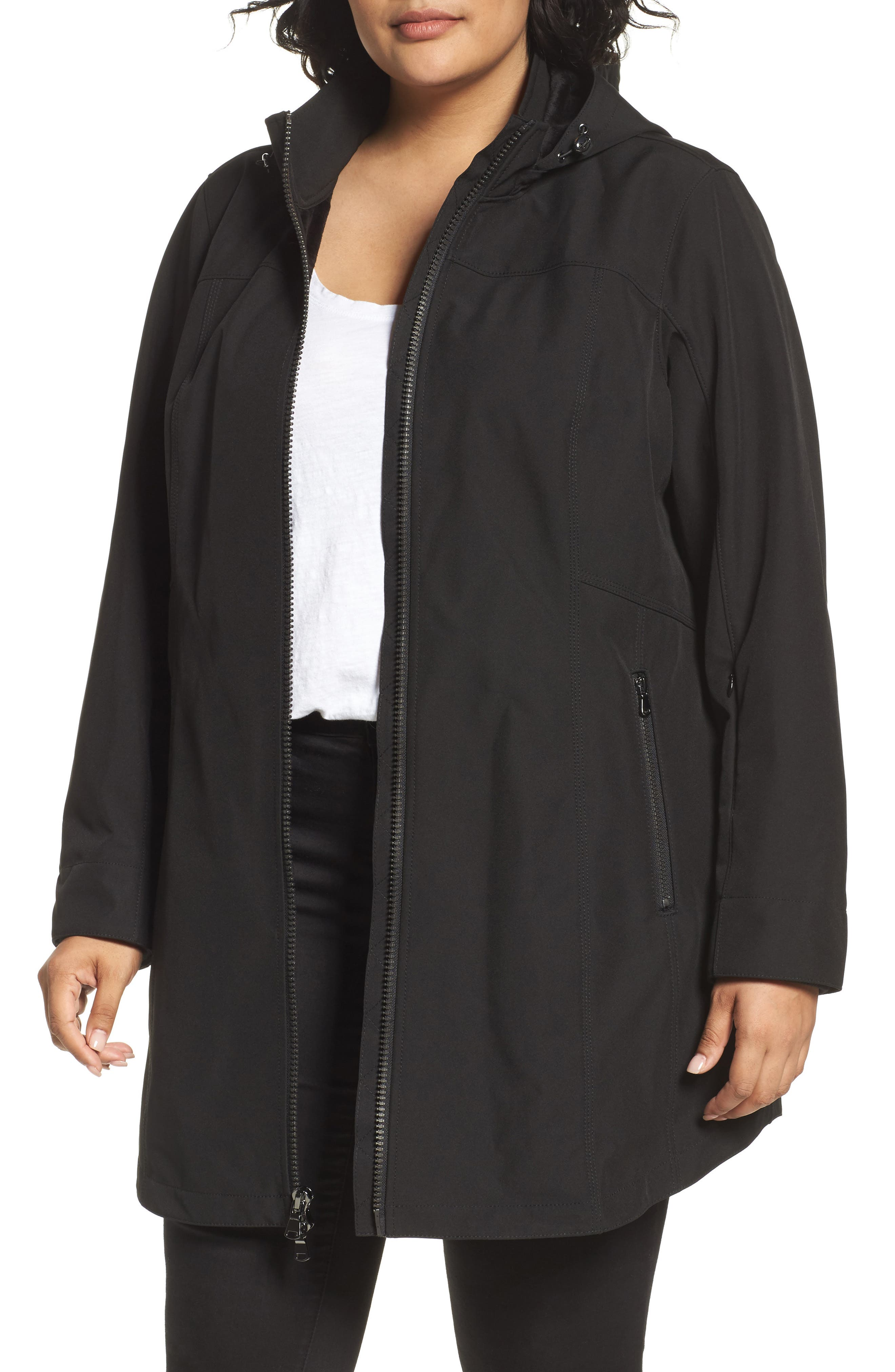 Kristen Blake Rain Jacket (Plus Size)