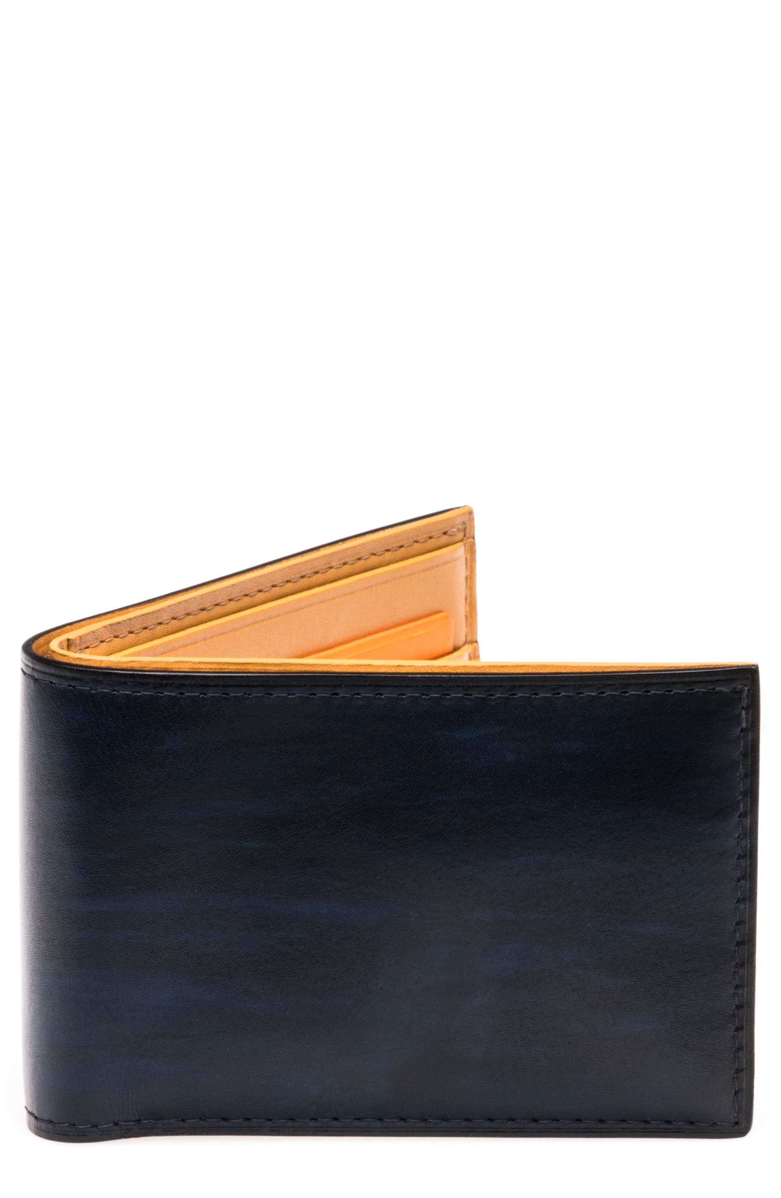 Alternate Image 1 Selected - Magnanni Slim Leather Bifold Wallet