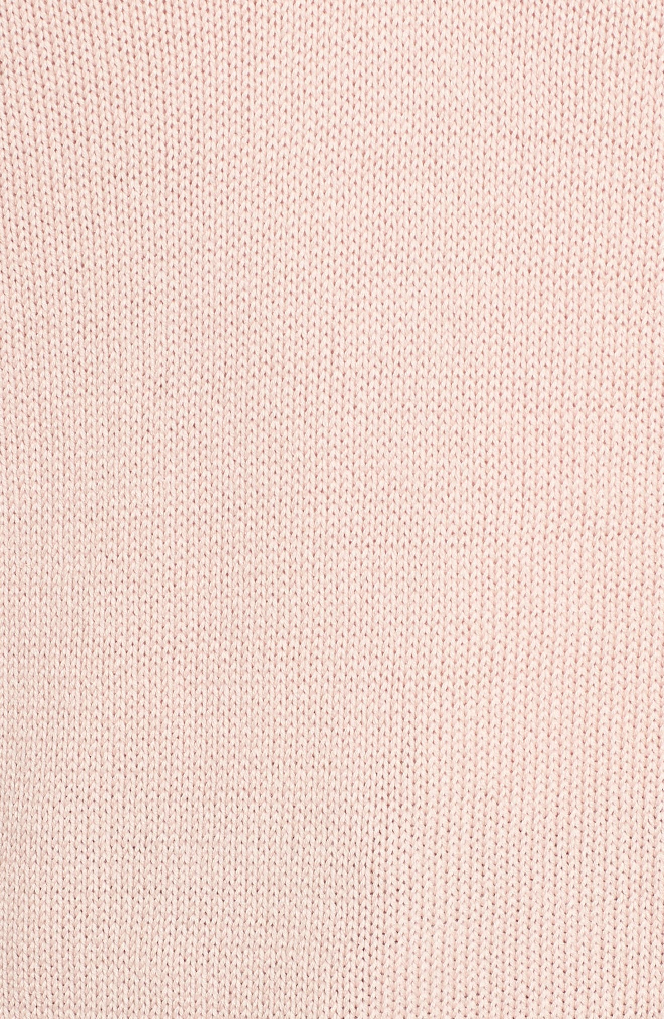 Alternate Image 6  - Everlane The Cotton Long Sleeve V-Neck Crop Sweater