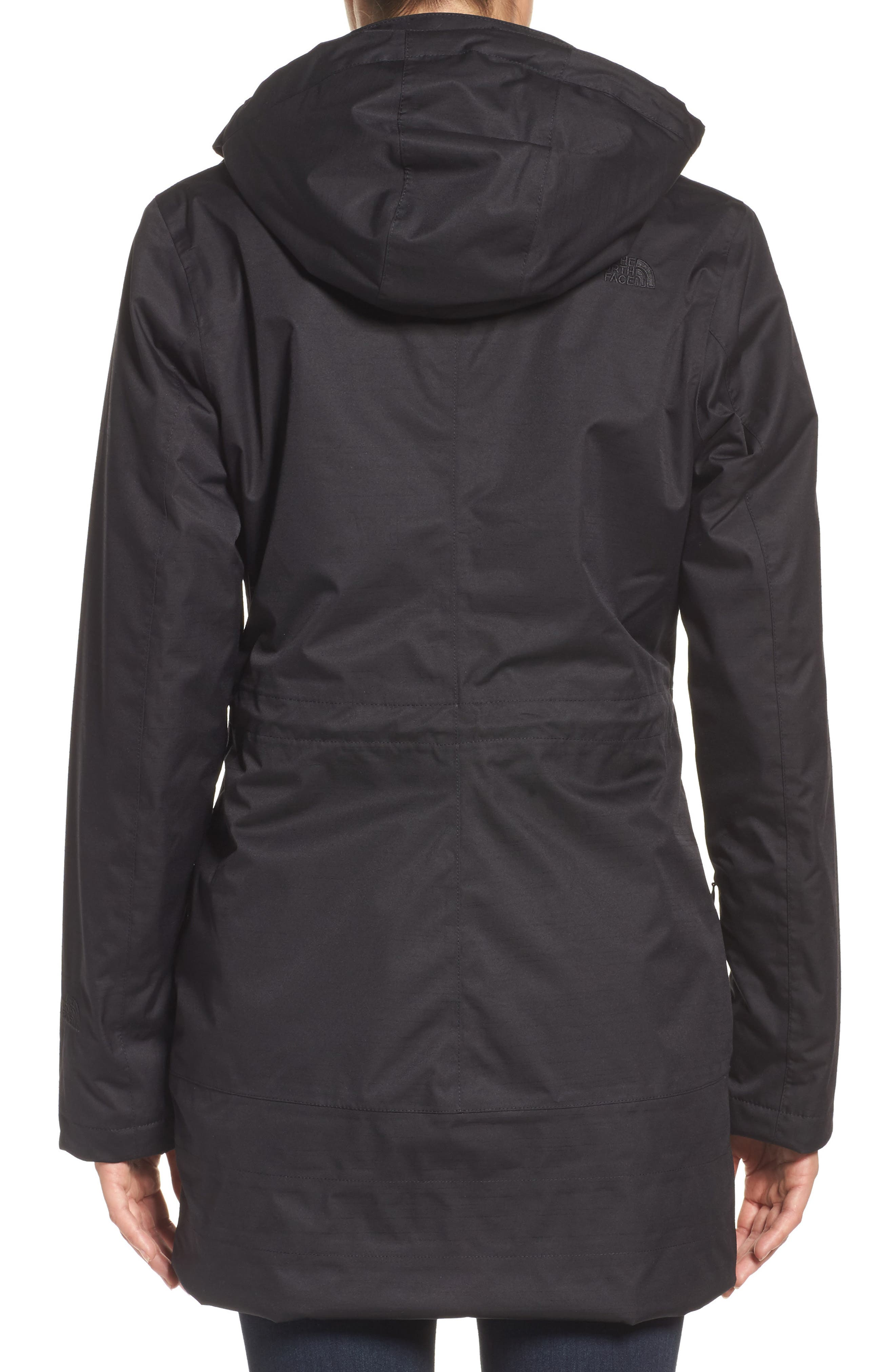 Alternate Image 2  - The North Face 'Ancha' Hooded Waterproof Parka