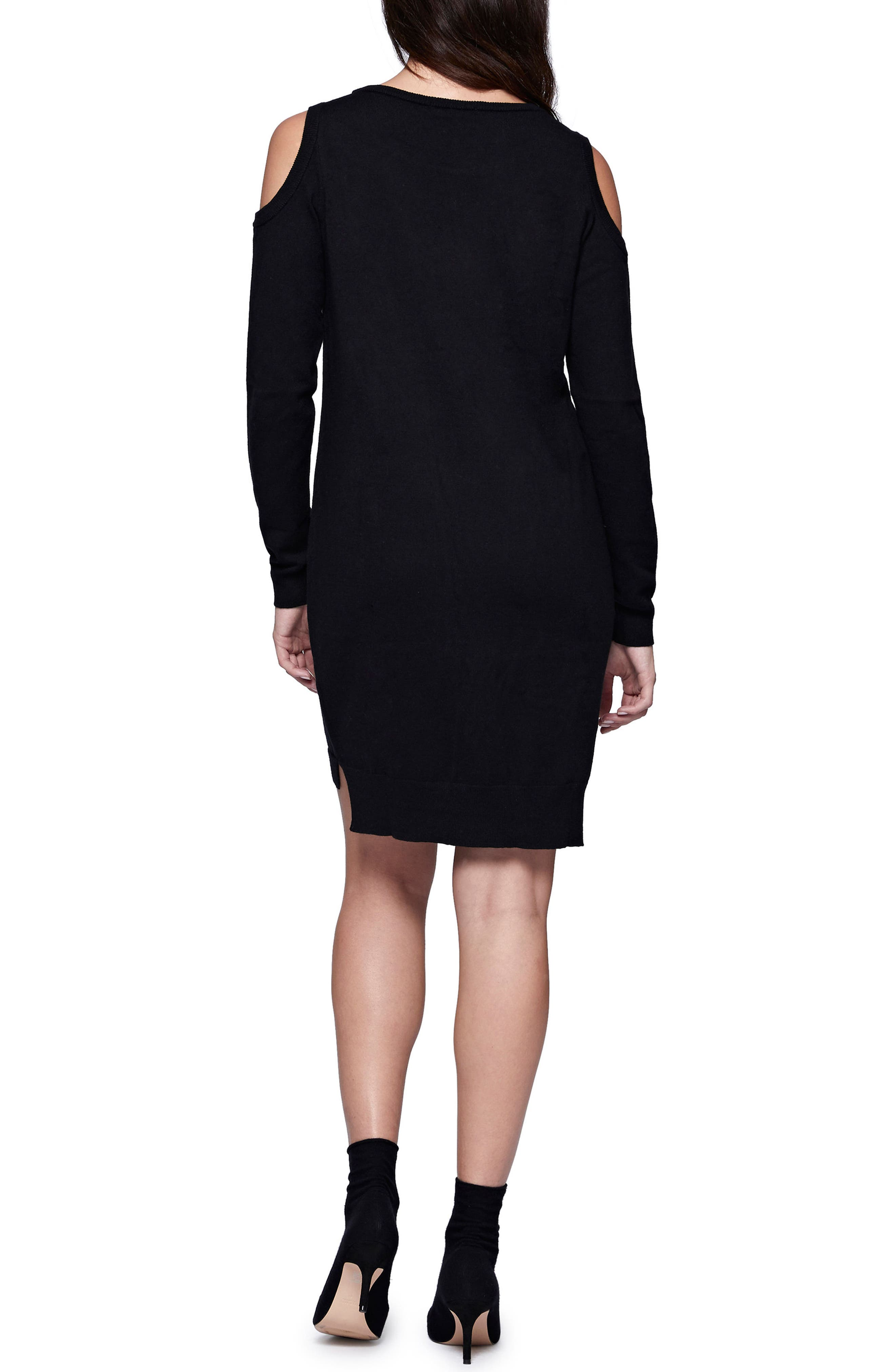 Alternate Image 2  - Sanctuary Amy Cold Shoulder Sweater Dress