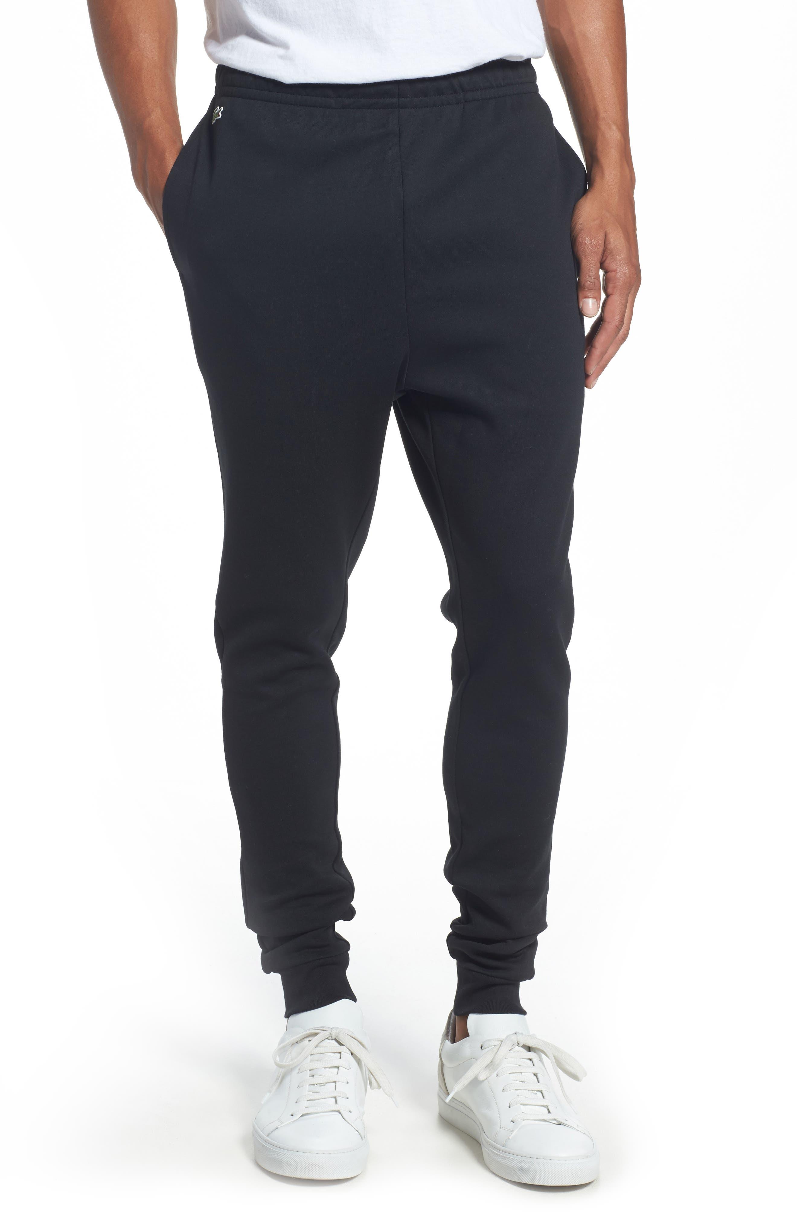 Tapered Jogger Pants,                             Main thumbnail 1, color,                             Black