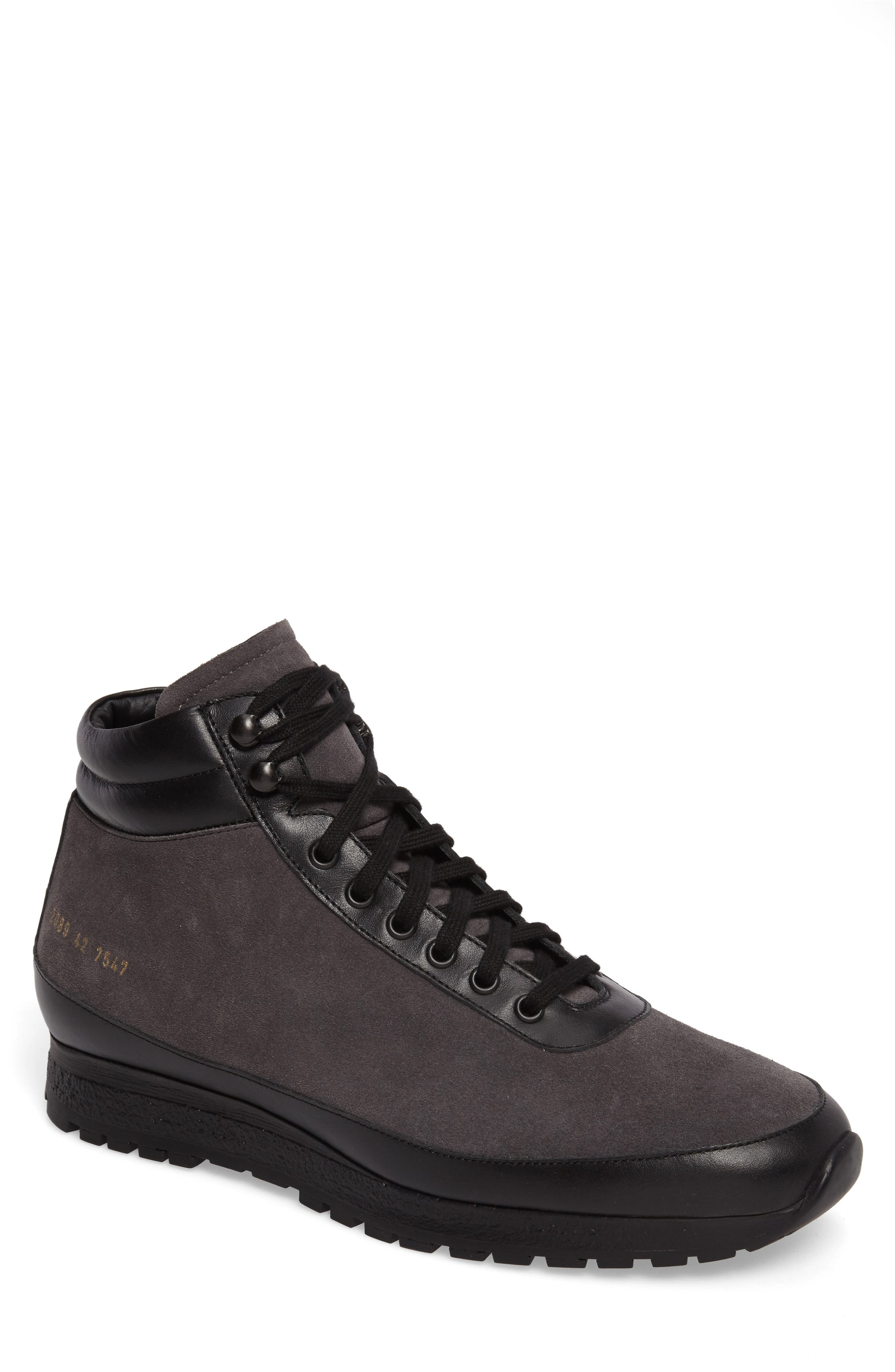 Main Image - Common Projects x Robert Geller Trek High Top Sneaker (Men)