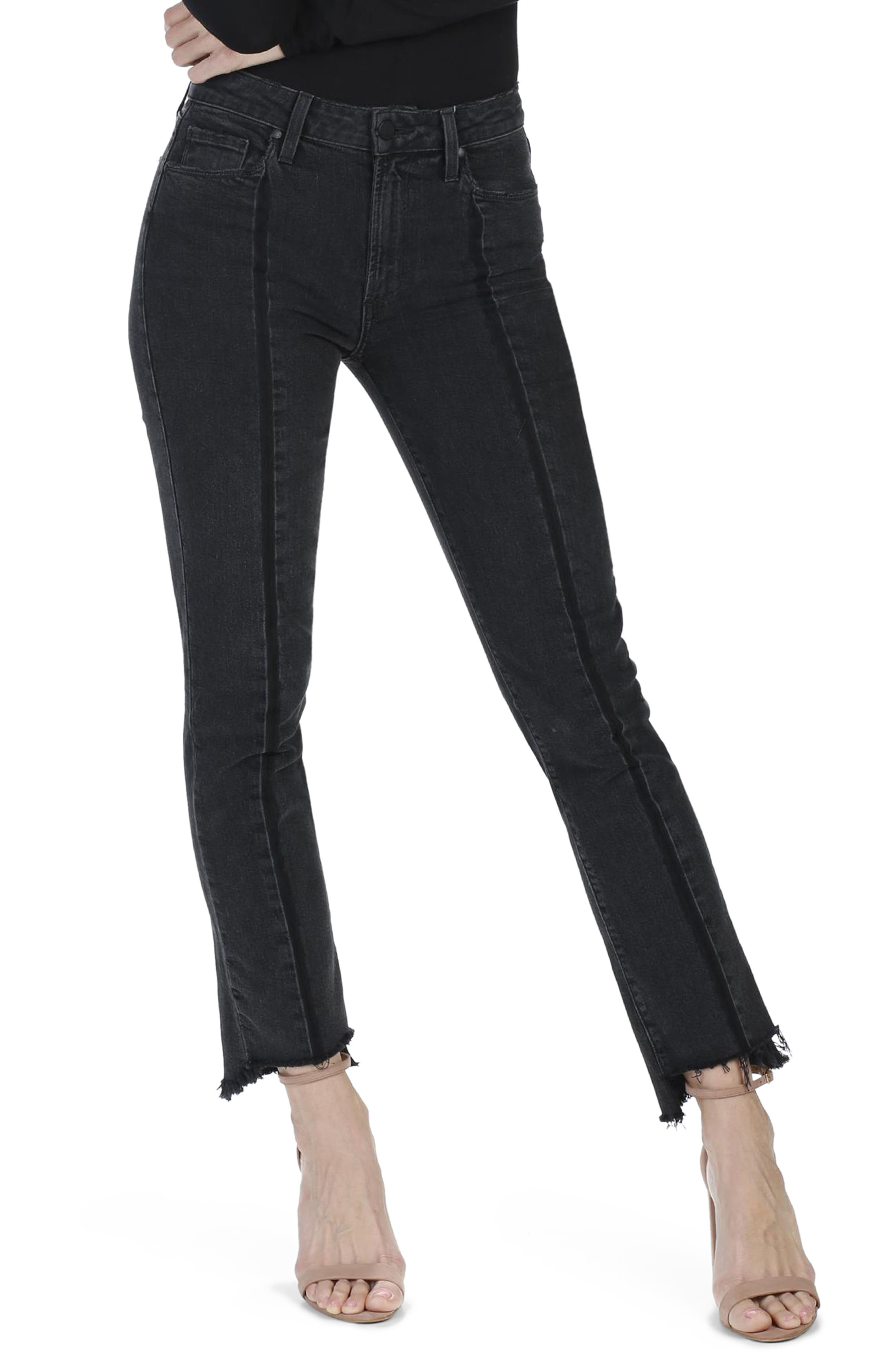 Alternate Image 1 Selected - PAIGE Vintage Julia High Waist Ankle Straight Leg Jeans (Ranger)