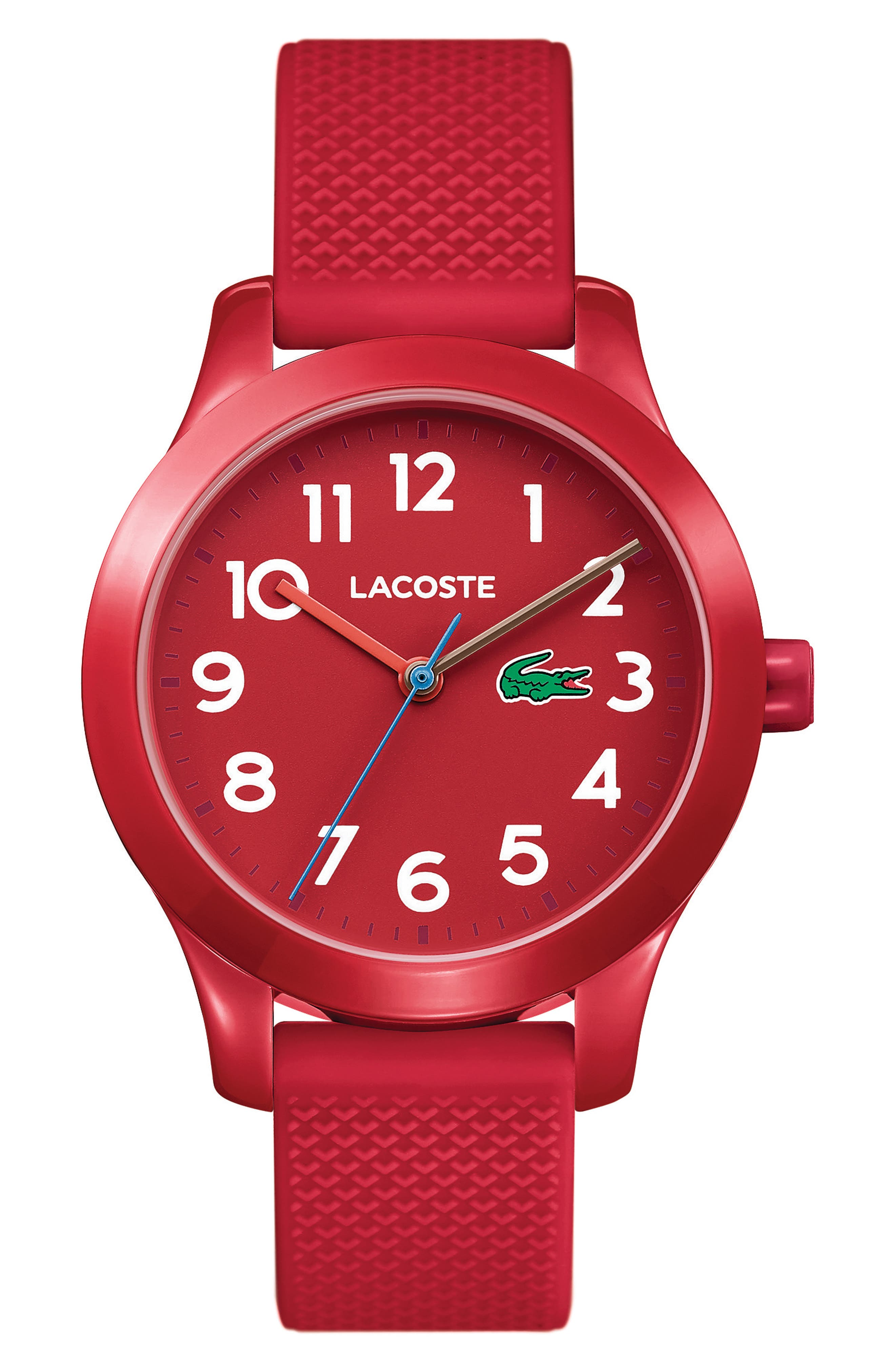 Alternate Image 1 Selected - Lacoste Kids 12.12 Silicone Strap Watch, 32mm