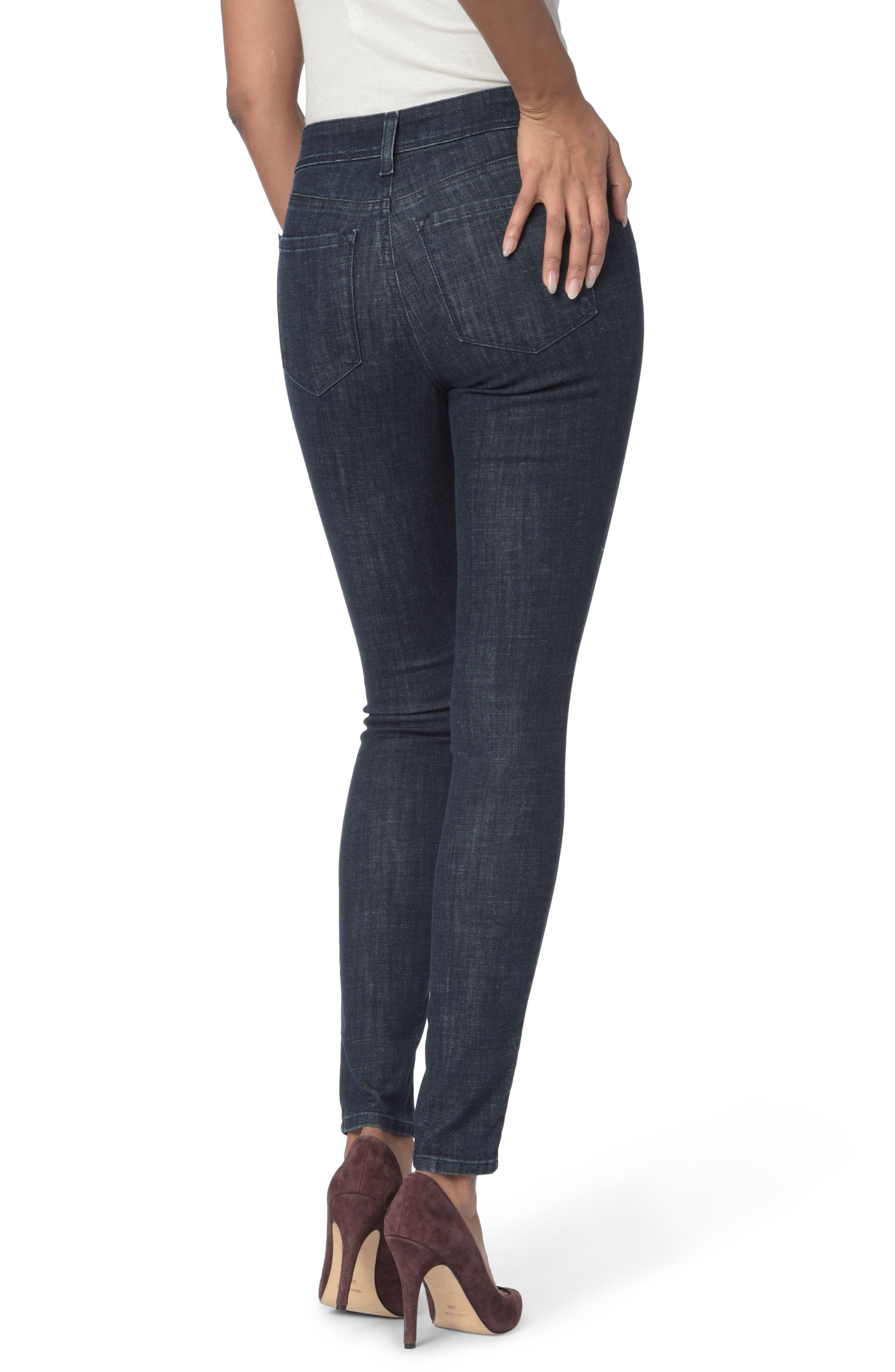 Alternate Image 2  - NYDJ Ami Zip Detail Stretch Super Skinny Jeans (Rambard)