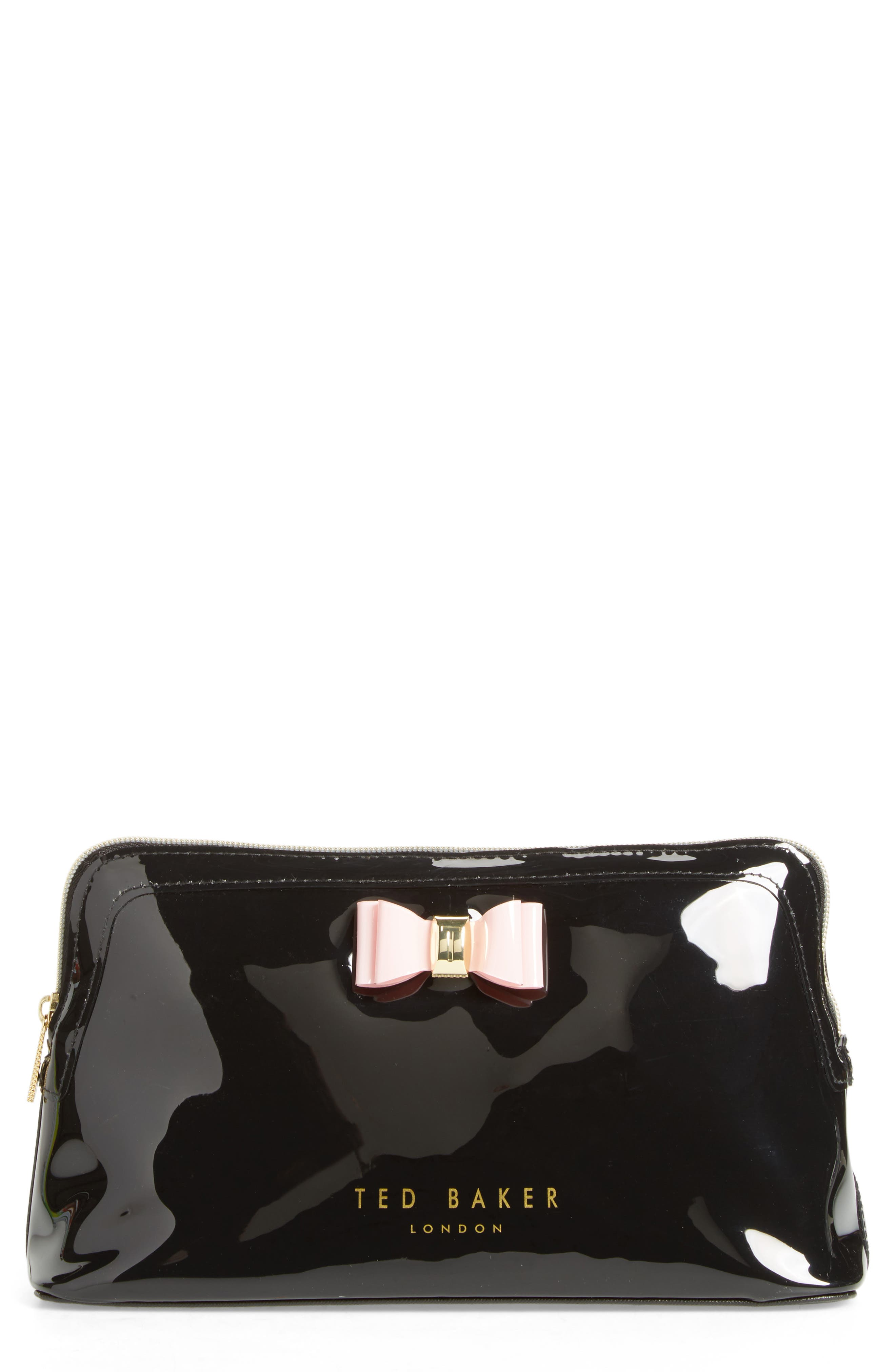 Ted Baker London Jana Bow Cosmetic Case